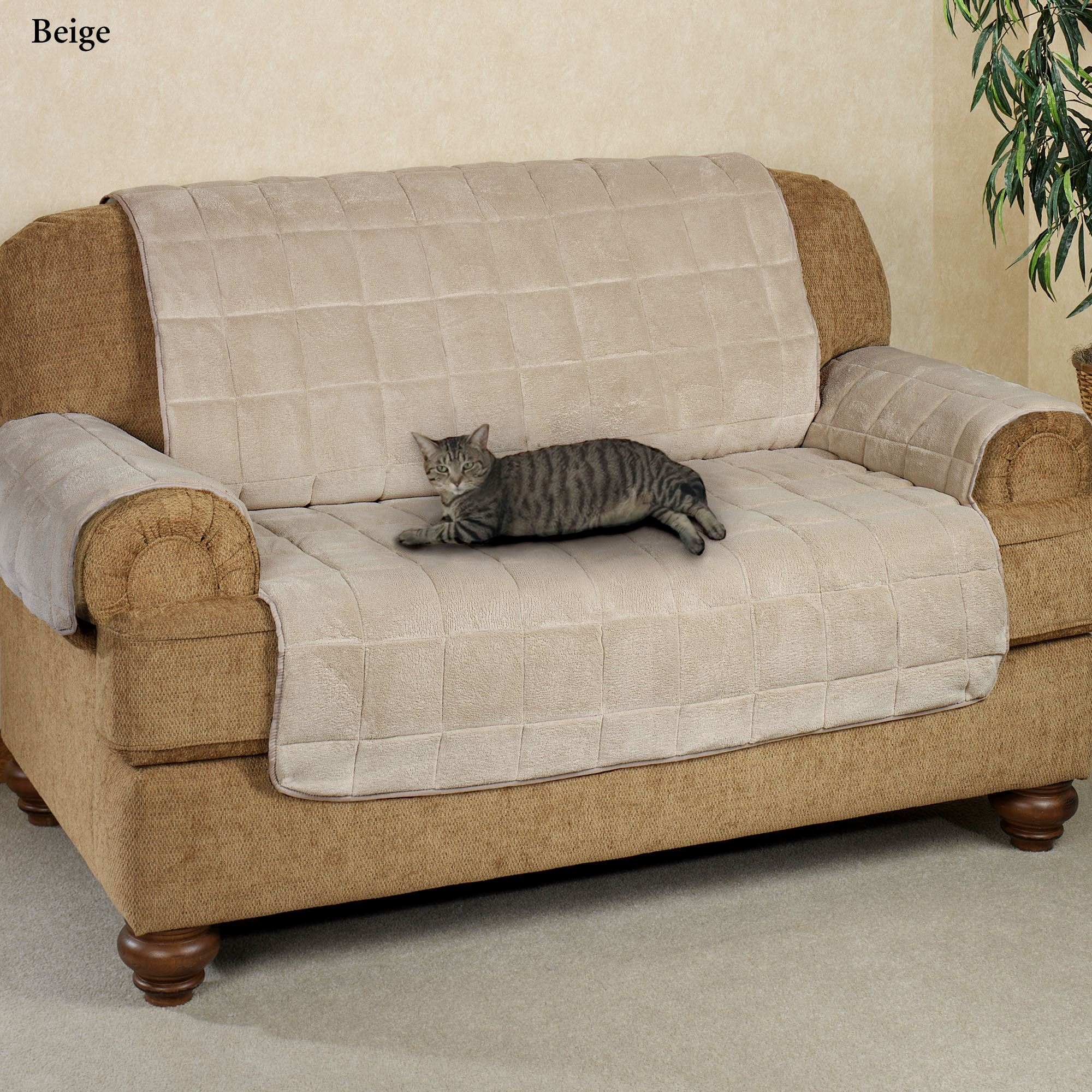 Attirant Microplush Pet Furniture Sofa Cover Sofa