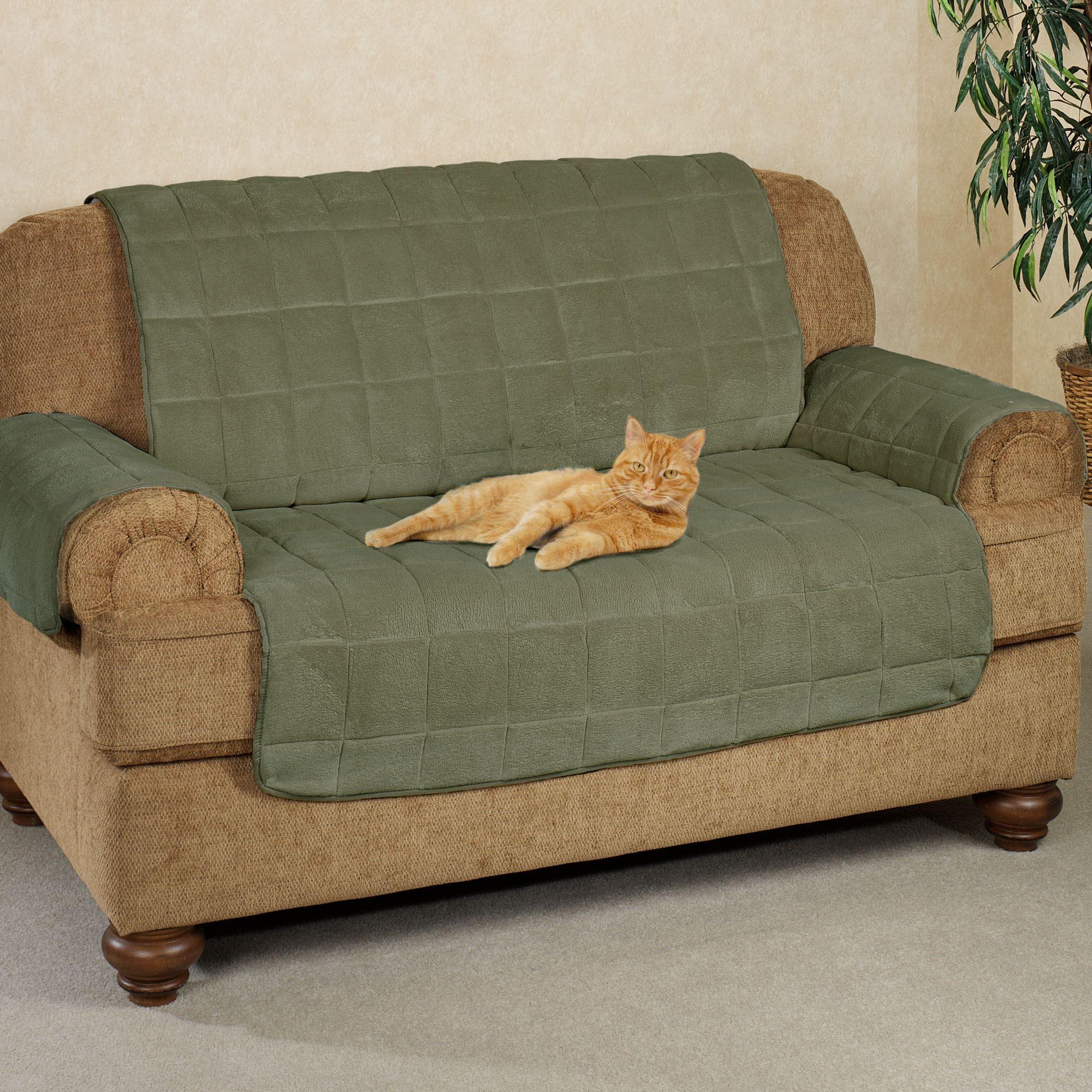Microplush Pet Furniture Loveseat Cover