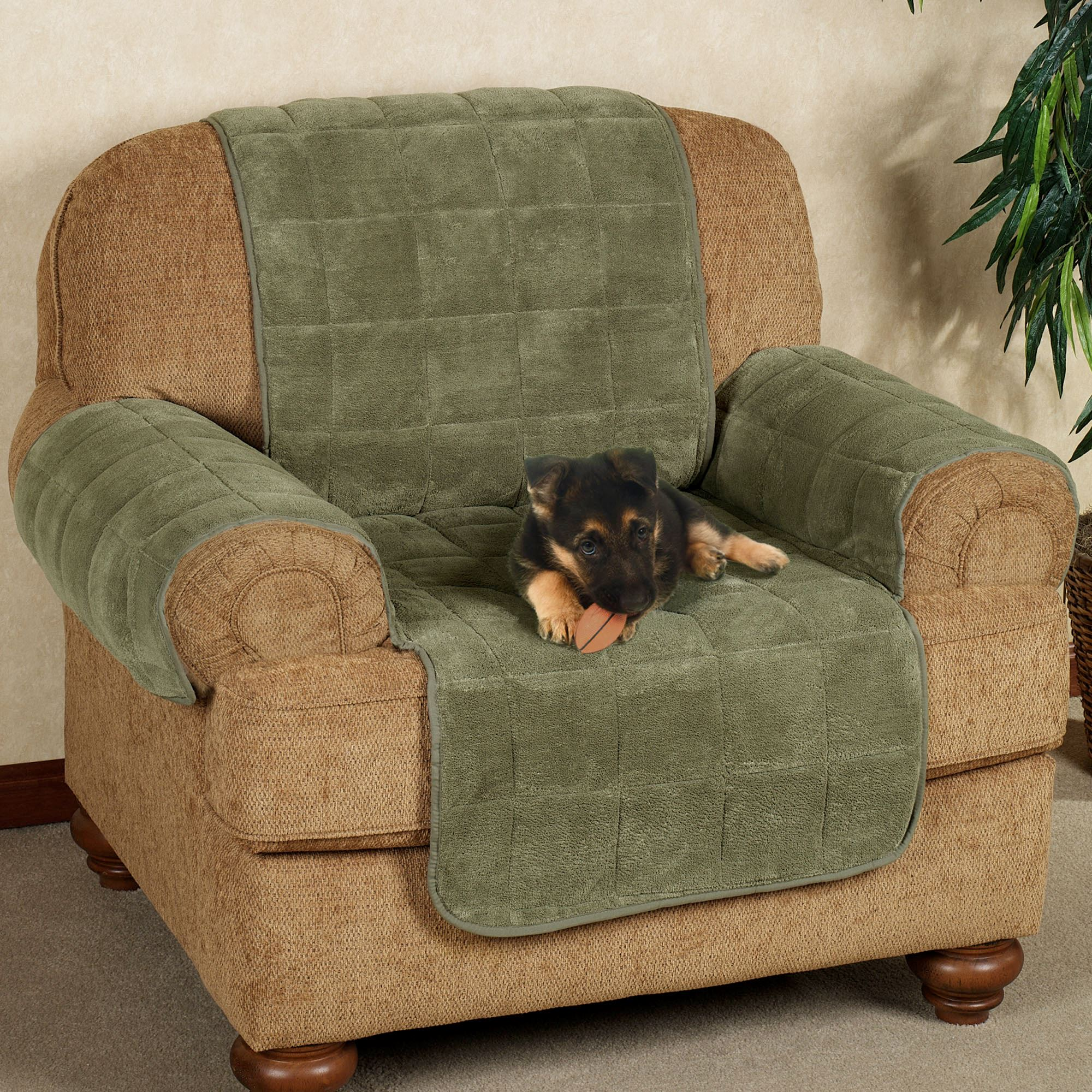 Etonnant Microplush Pet Furniture Chair Cover Chair