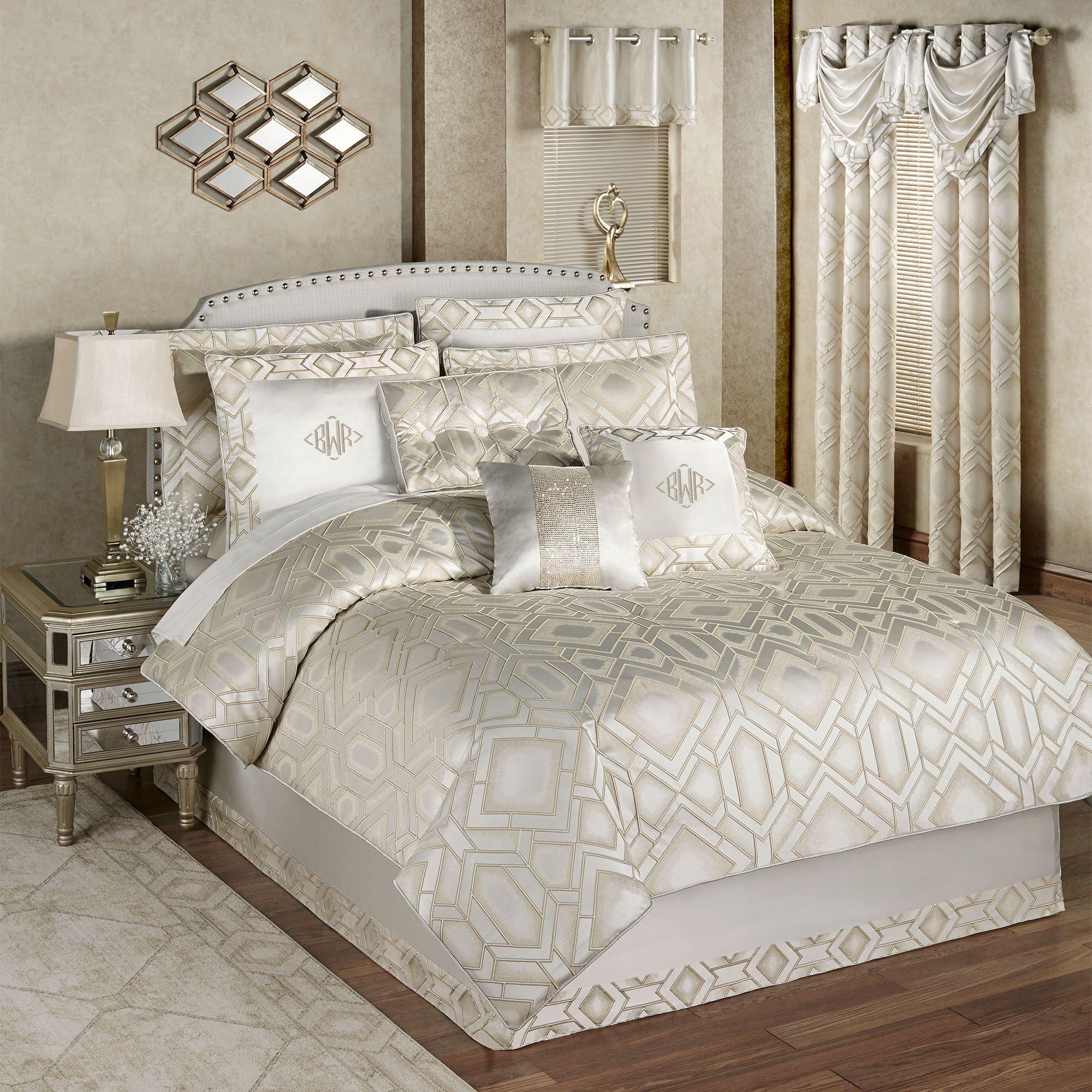 Summit Modern Geometric Comforter Bedding
