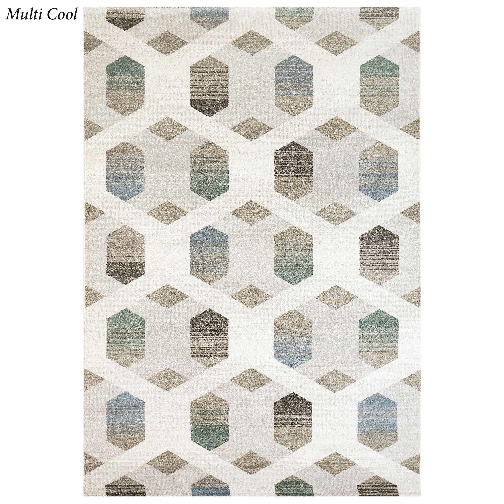 Canberra Abstract Geometric Area Rugs