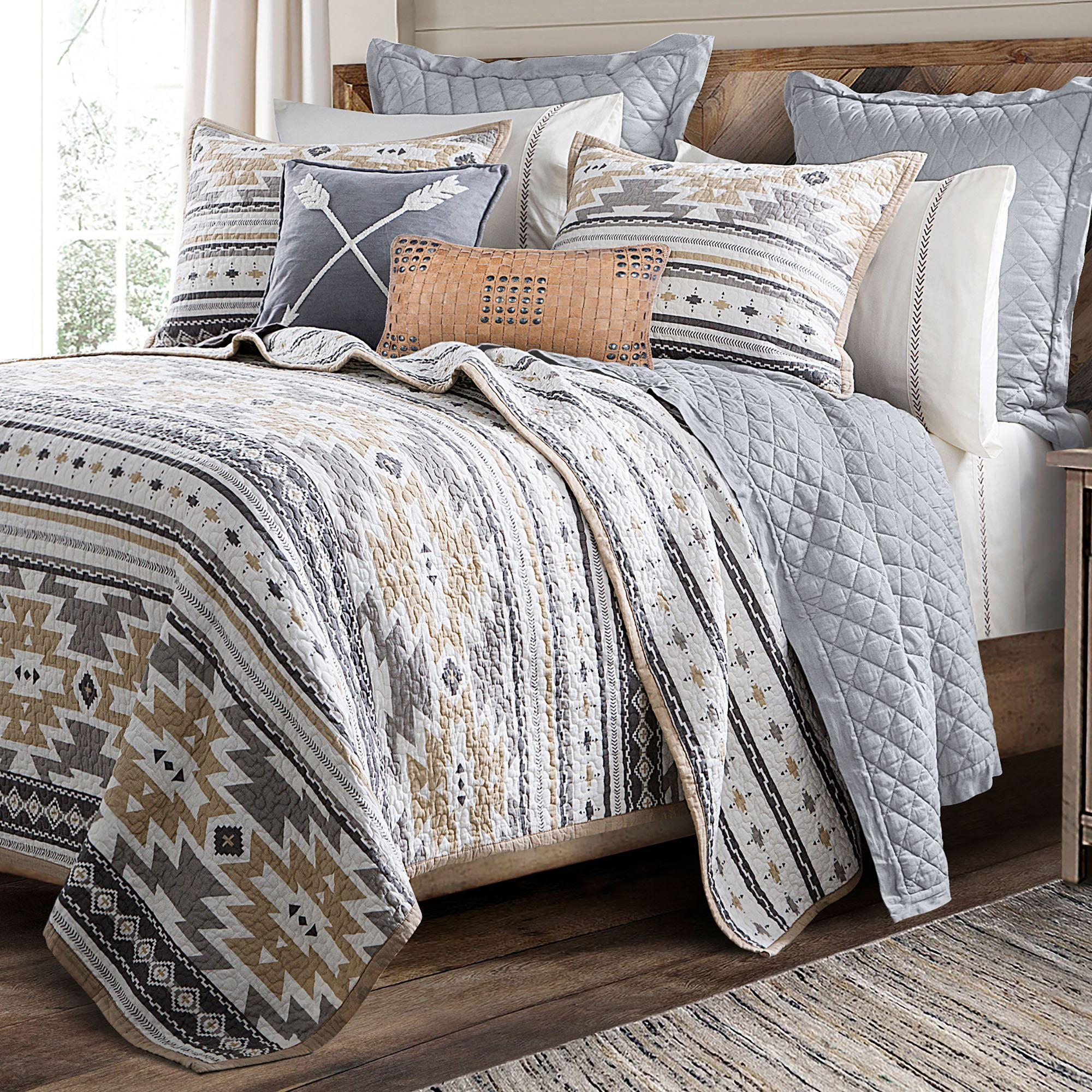 Desert Sage Reversible Southwest Mini Quilt Set Bedding