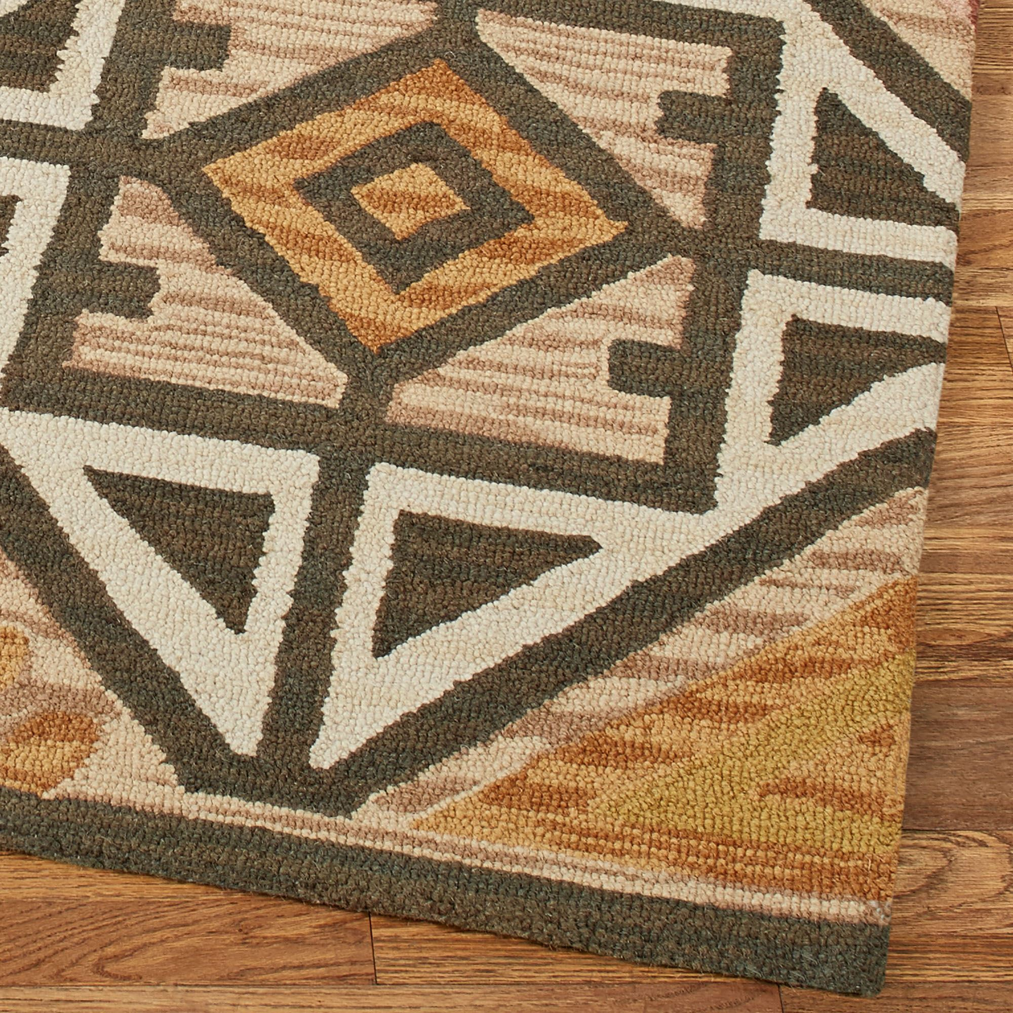 Southwest Rugs Whiskey River Turquoise Rug Collection: Southwest Area Rug