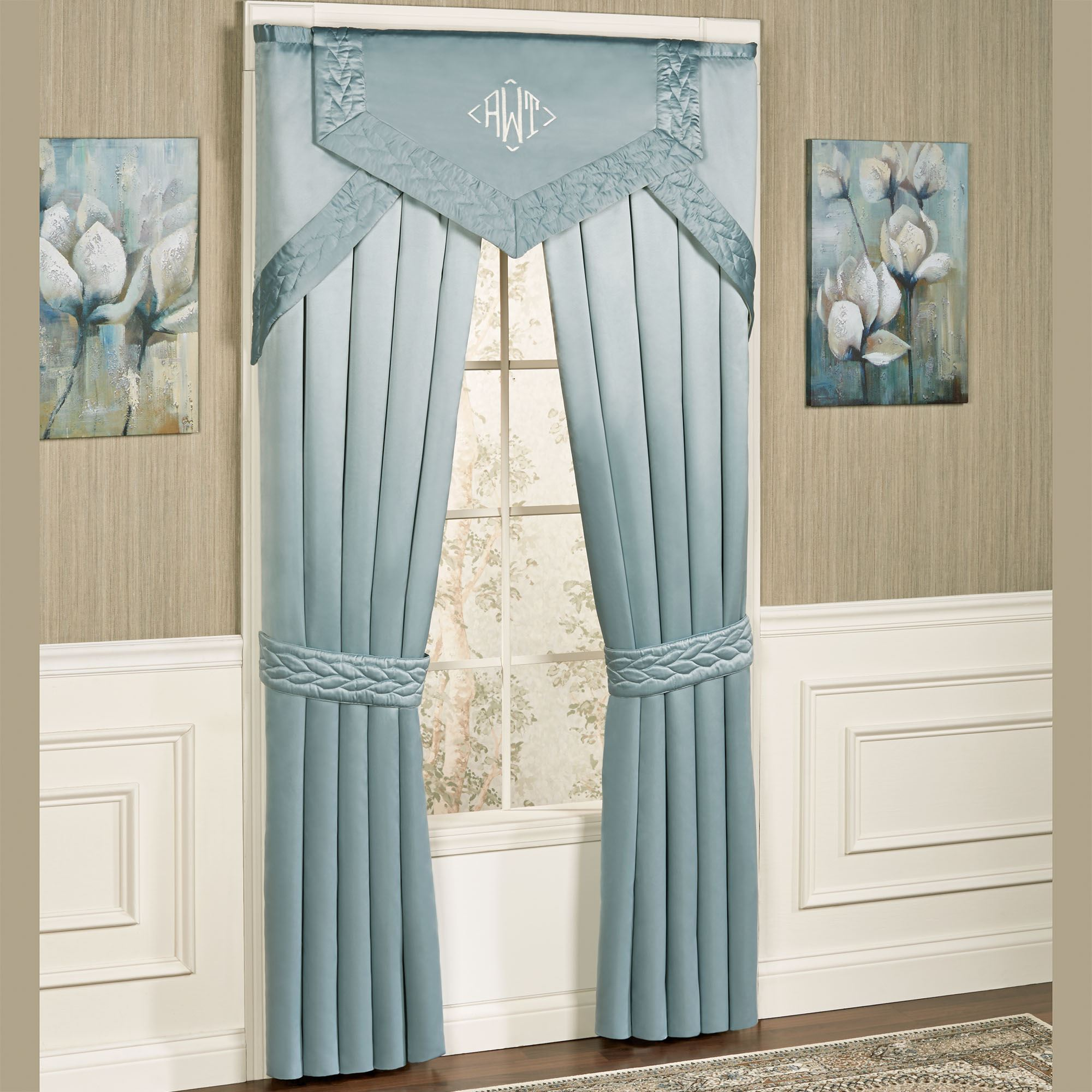 curtain brown p talk coffee piece window valance set opaque elements embroidered curtains and kitchen drapes semi tier