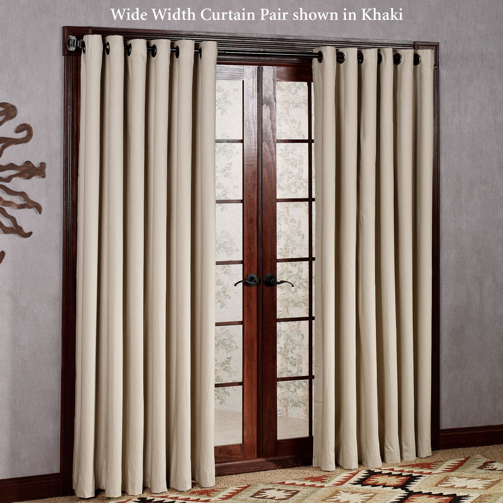 Construction Time Lined Curtains: Weathermate Solid Thermalogic(TM) Room Darkening Grommet