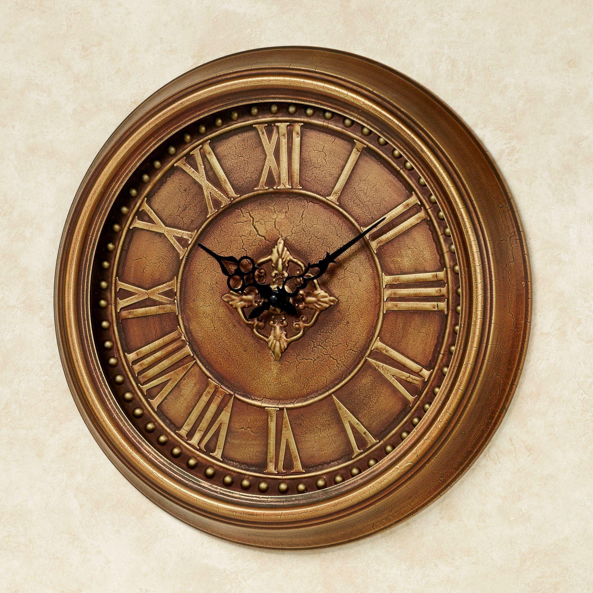 Jamison Metal Wall Clock