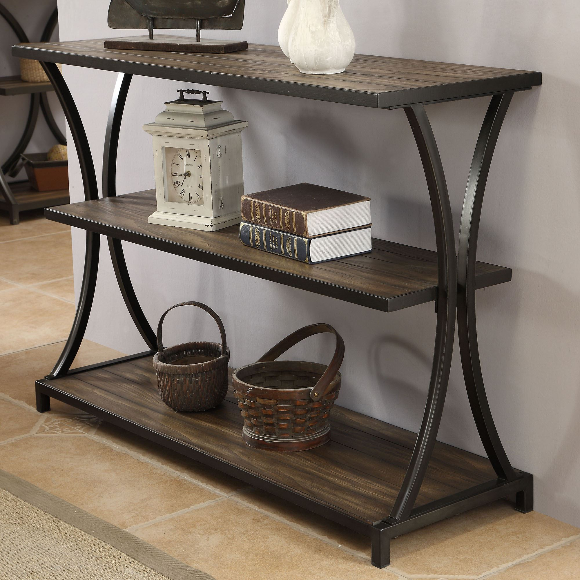 Carter Console Table Black