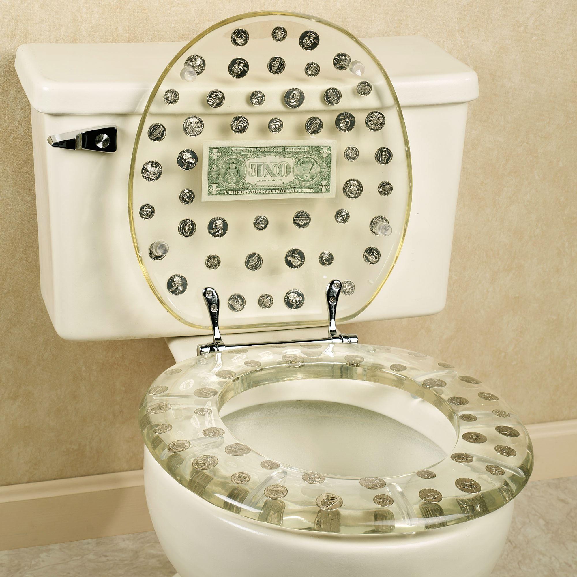 Dollar Bill Toilet Seat