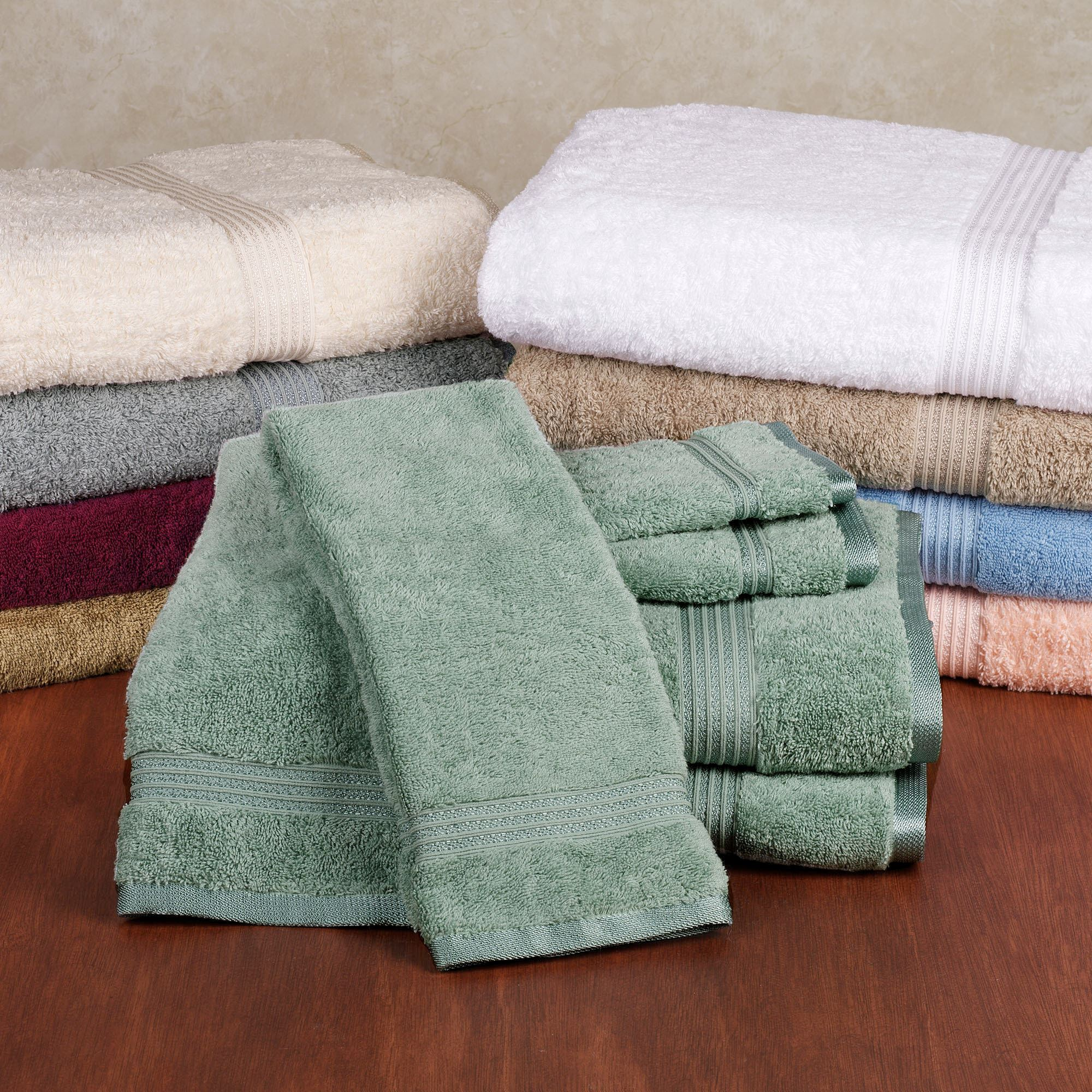 600 Gsm Superior 6 Pc Towel Set