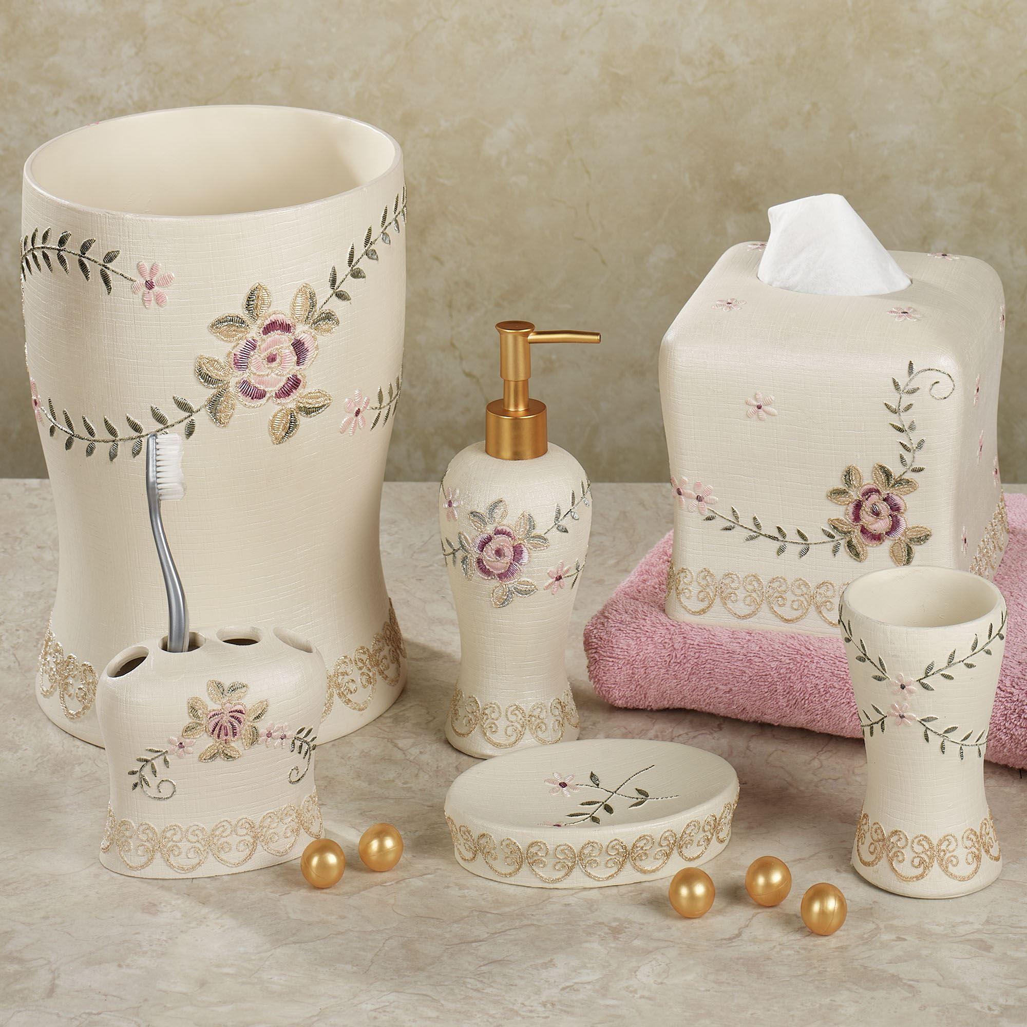 Bella Rose Bath Accessories
