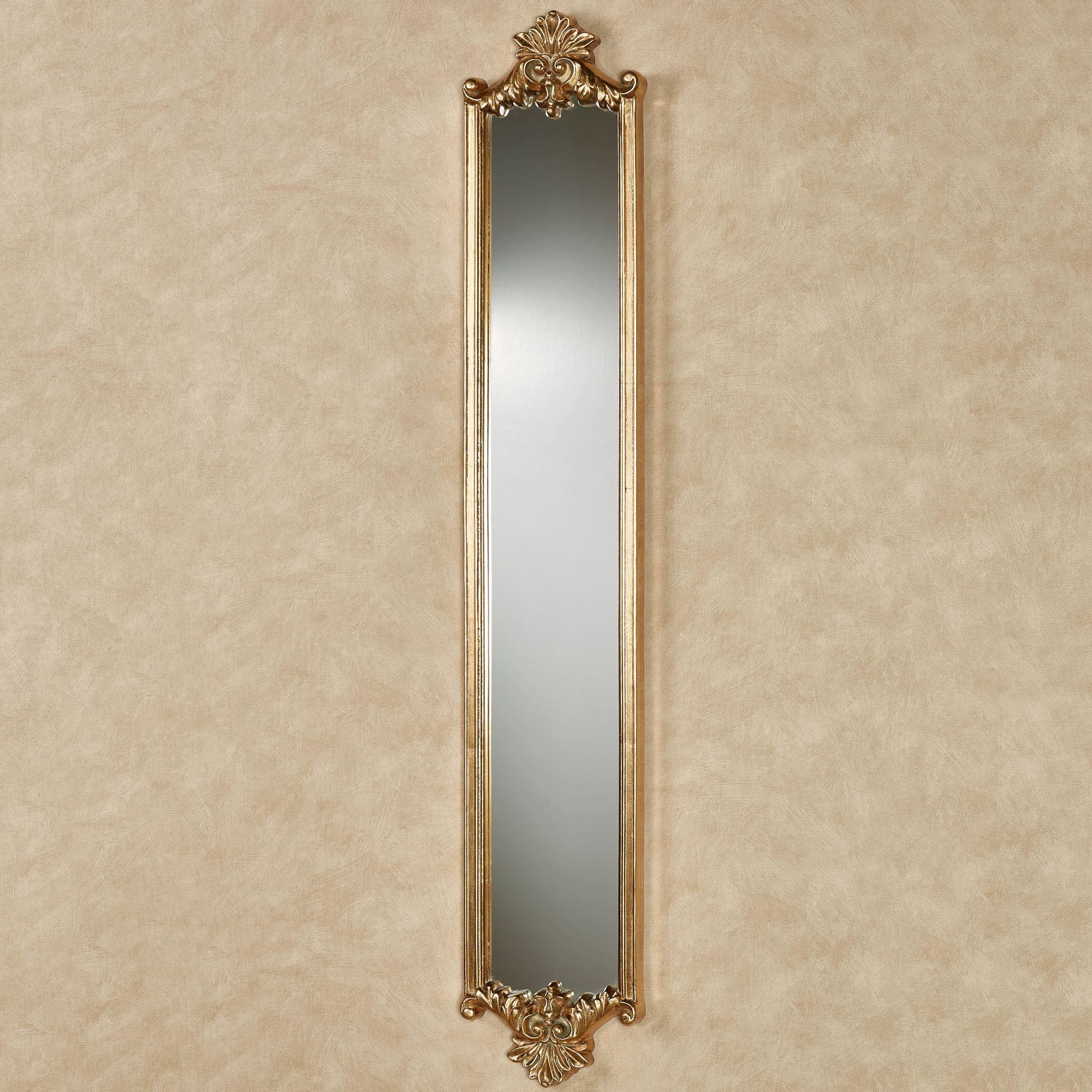 Alistair Gold Leaf Wall Mirror Panel