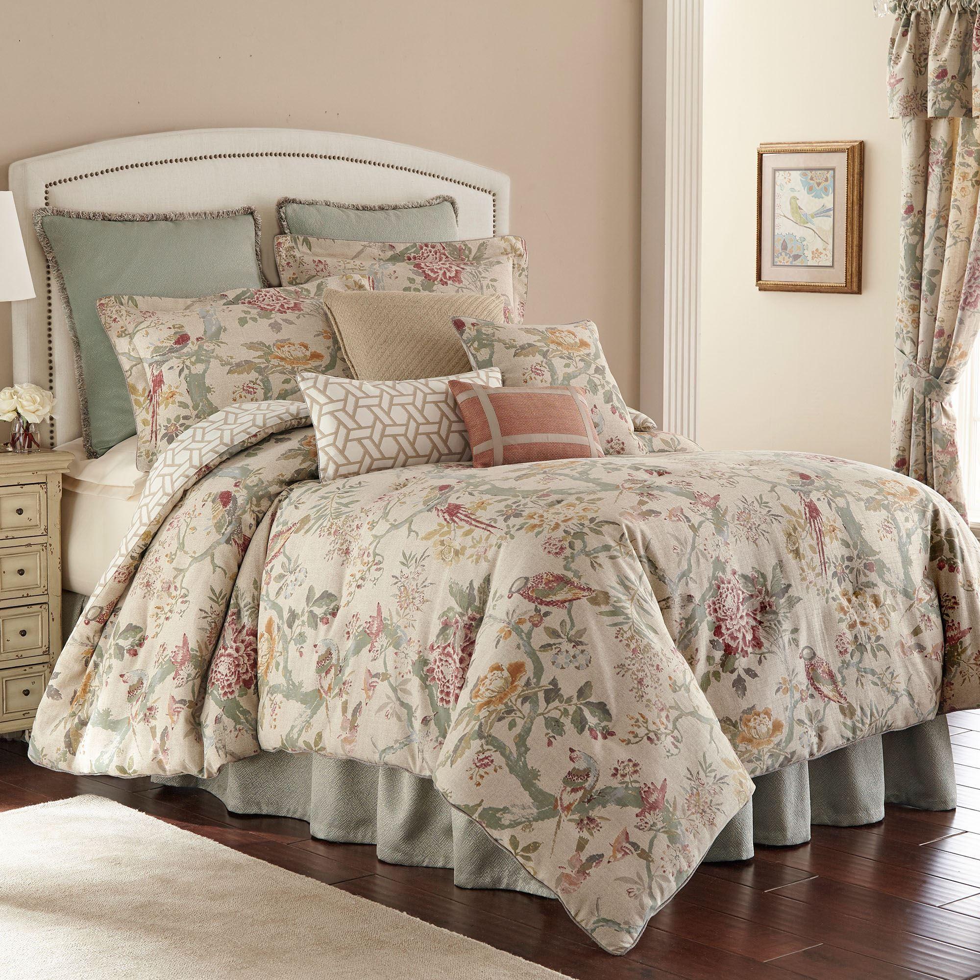 Bicarri Vintage Style Nature Floral Comforter Bedding By