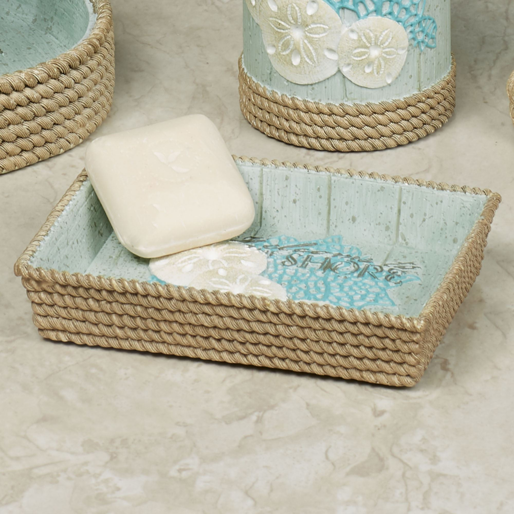 Beachcomber Coastal Bath Accessories