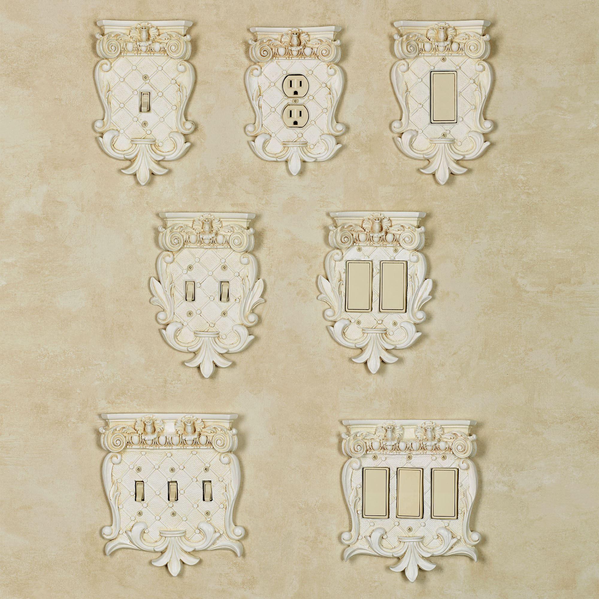 Corinthian Large Switchplates