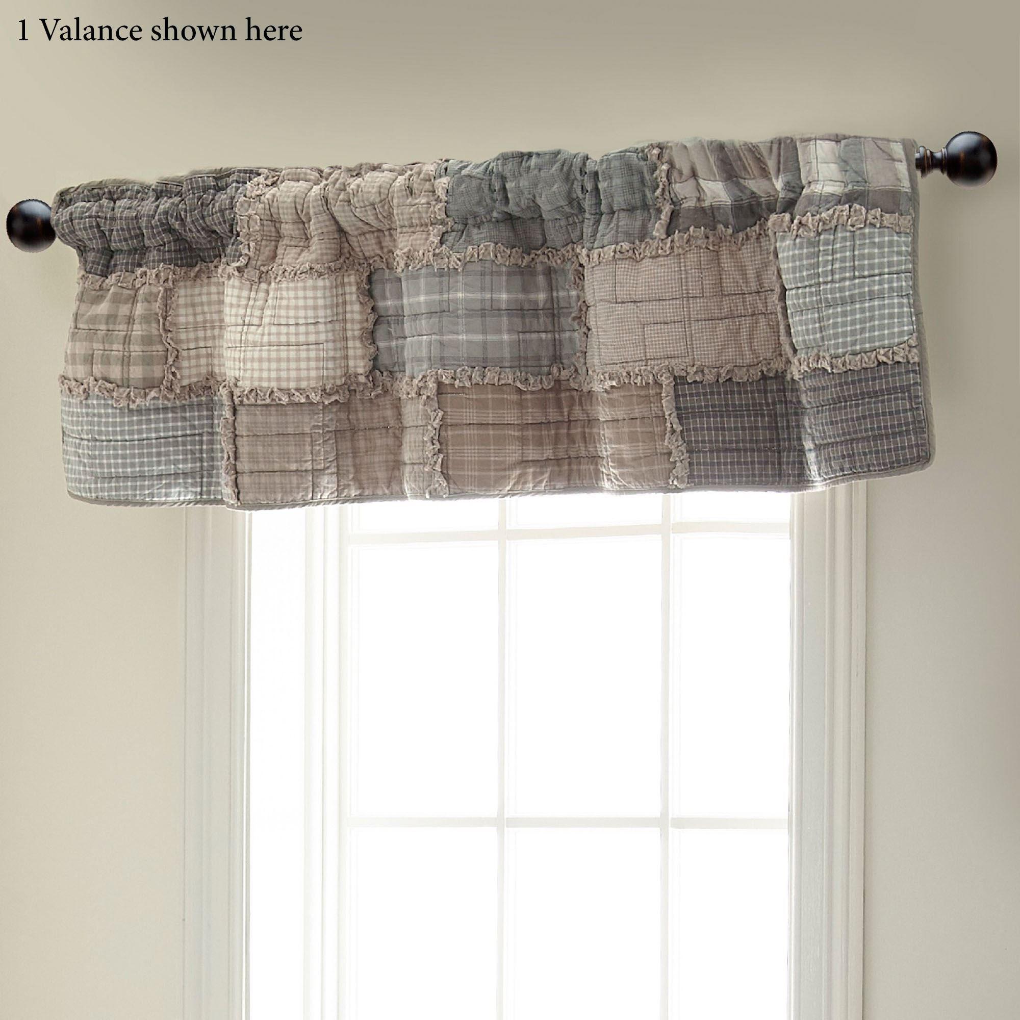 Smoky Cobblestone Patchwork Quilt Bedding By Donna Sharp