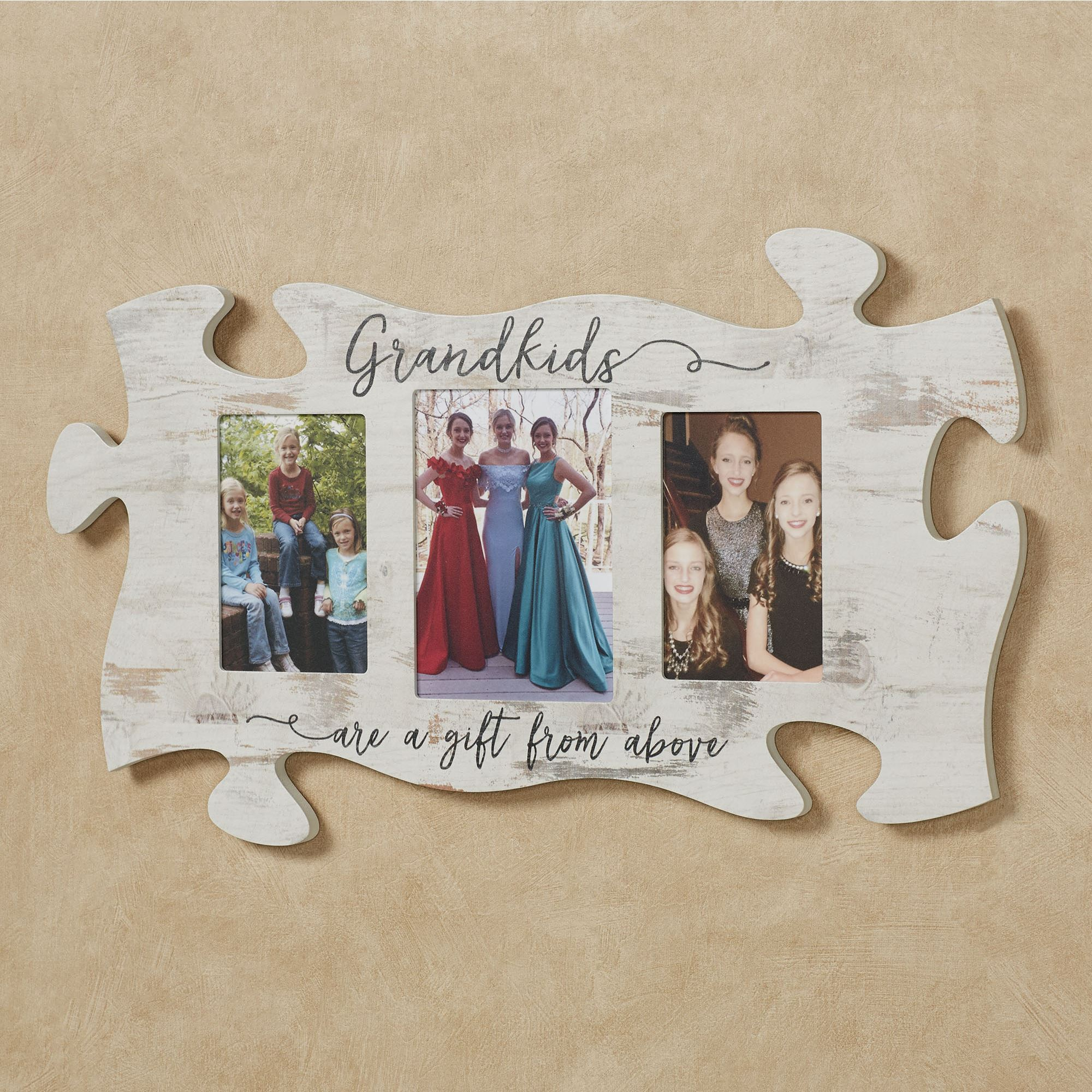 Family Photo Frame Puzzle Piece Wall Art
