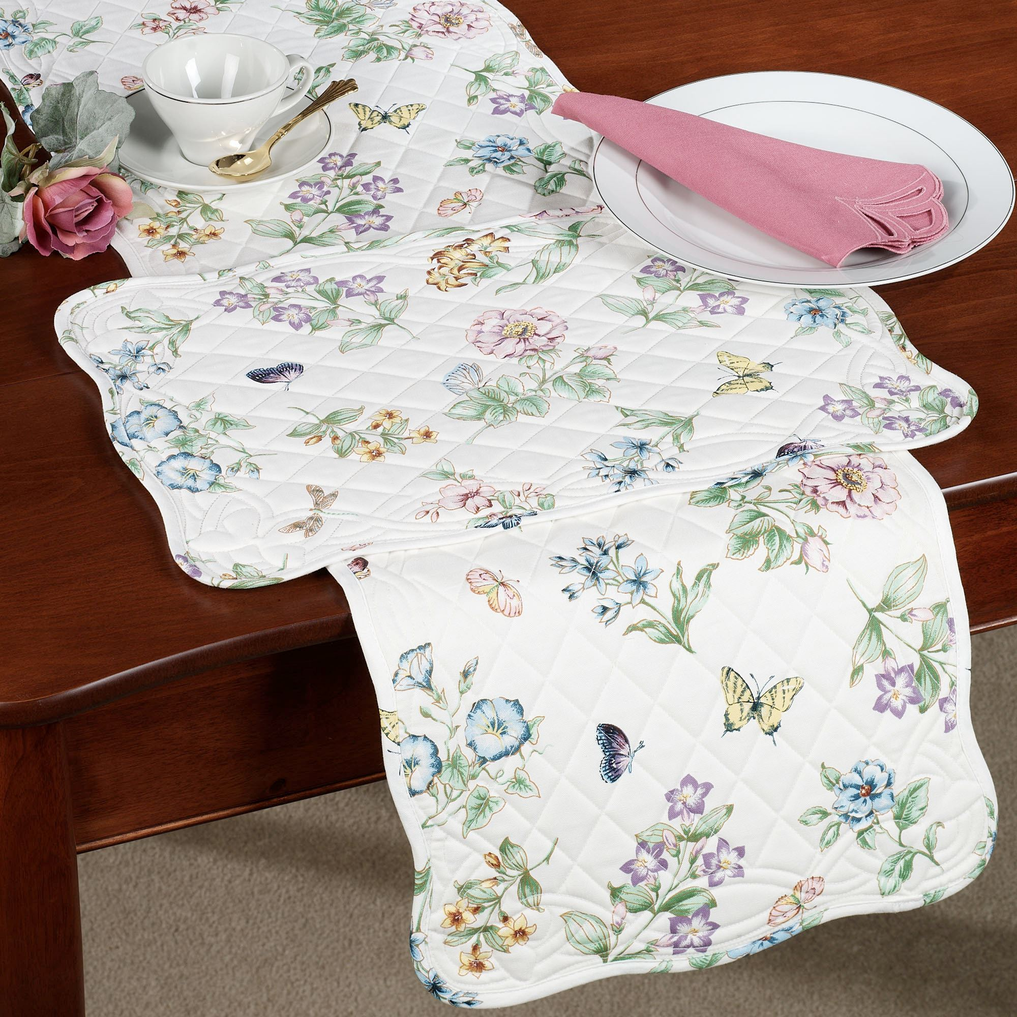 Lenox Butterfly Meadow Chair Cushion Or Placemat Set