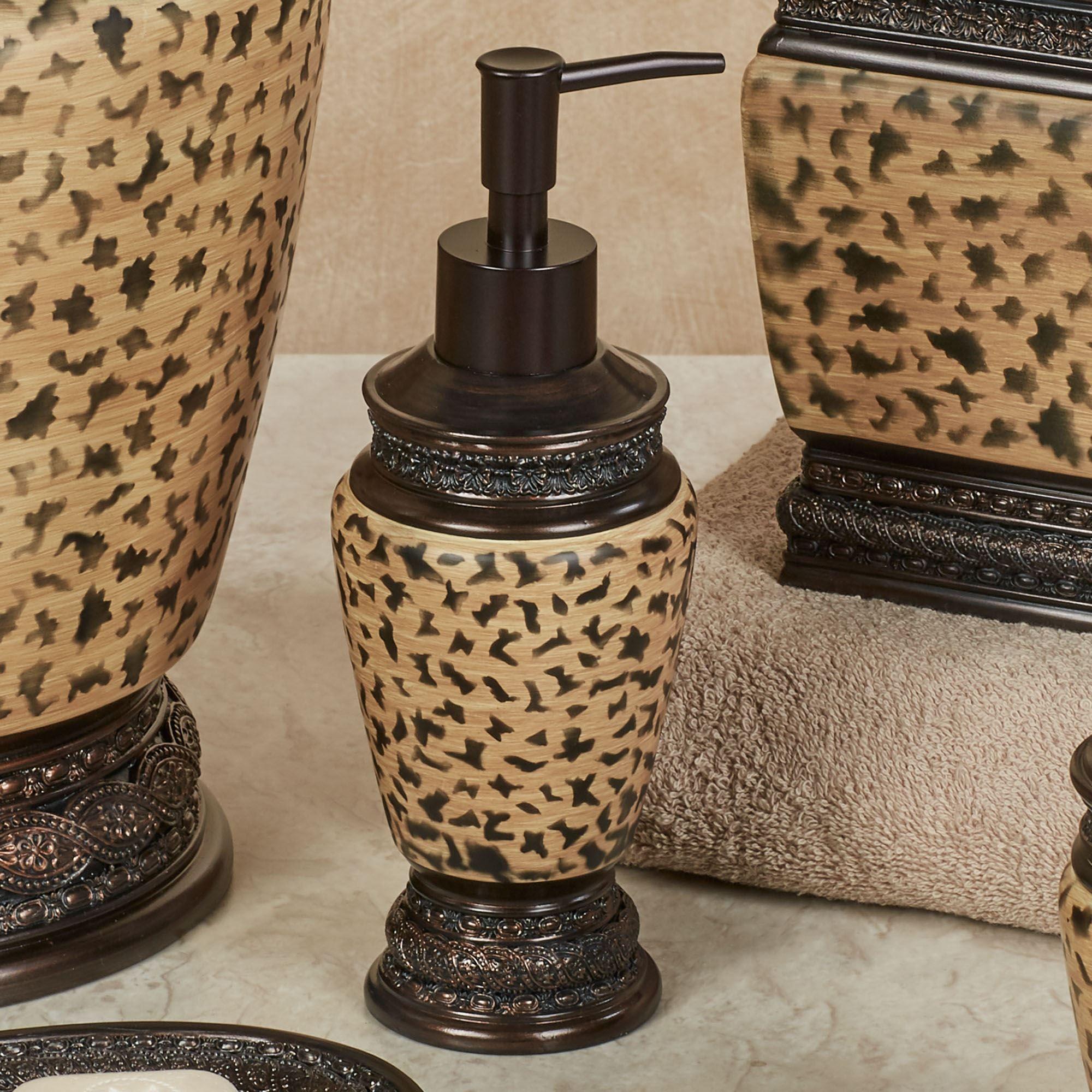 Wild Life Lotion Soap Dispenser Multi Warm