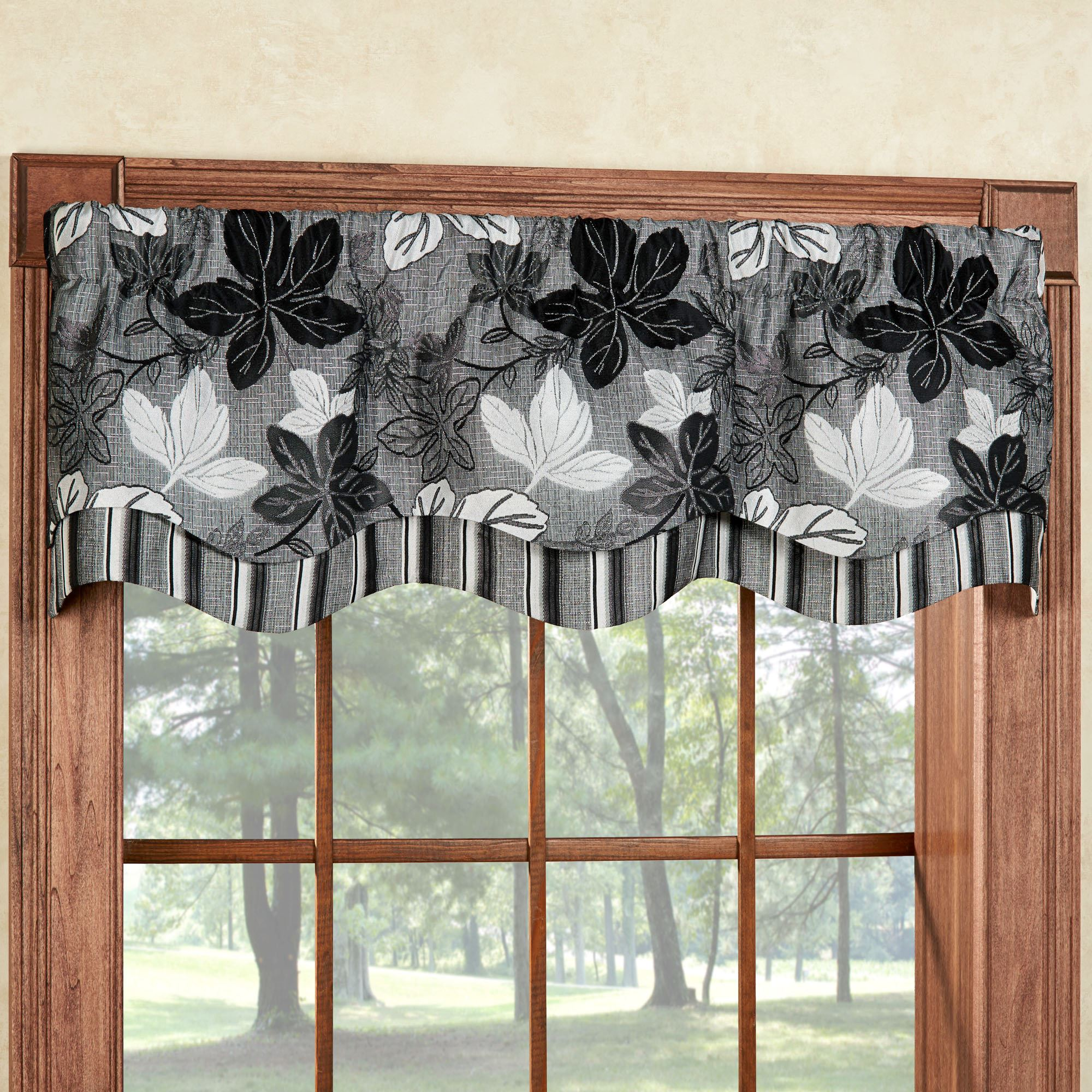 damask search valance etsy gray il