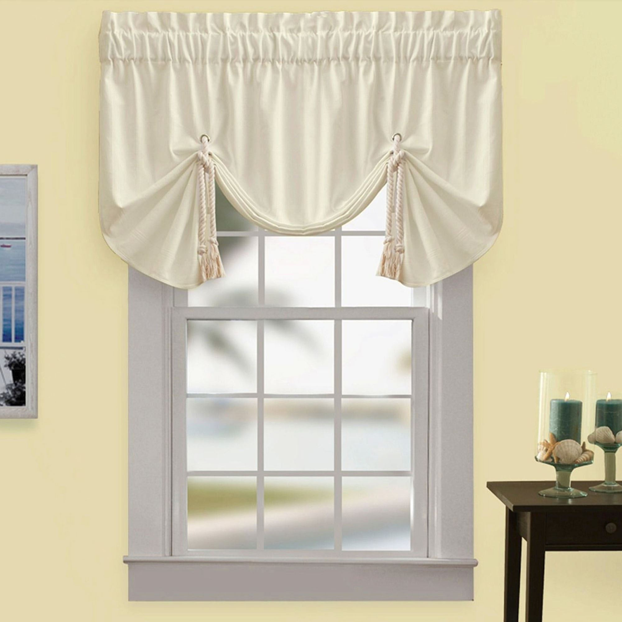 Regalia Sail Tie Up Window Valance by Croscill