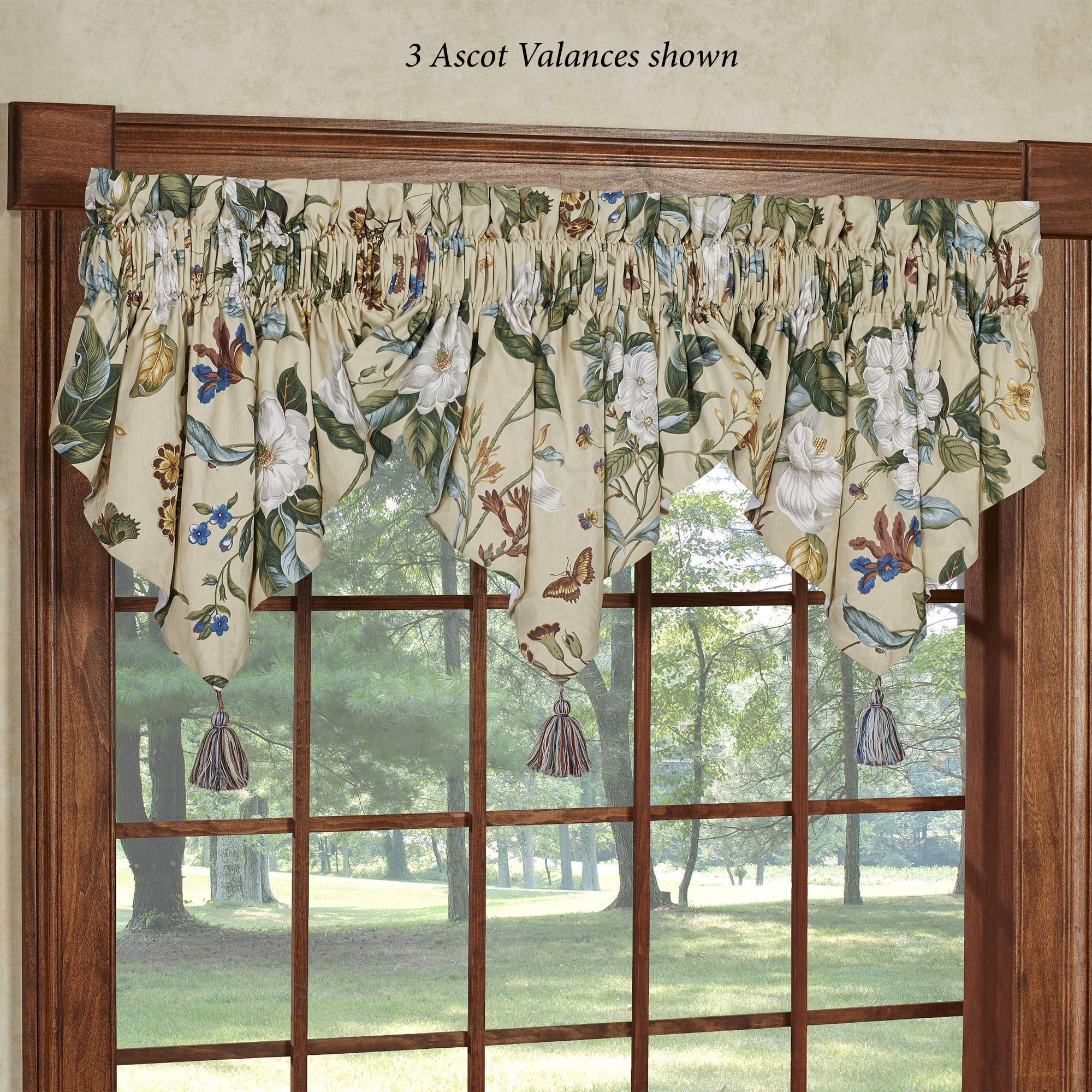 Garden Images Iii Floral Window Treatments