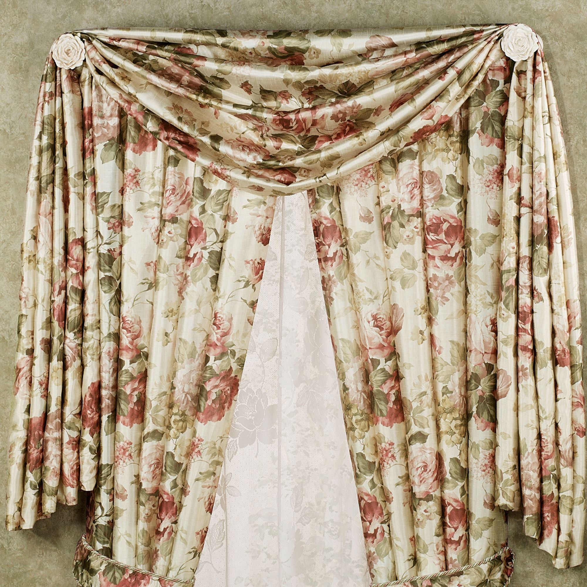 garden orders home on window overstock scarf sheer product valance shipping over free infinity vcny