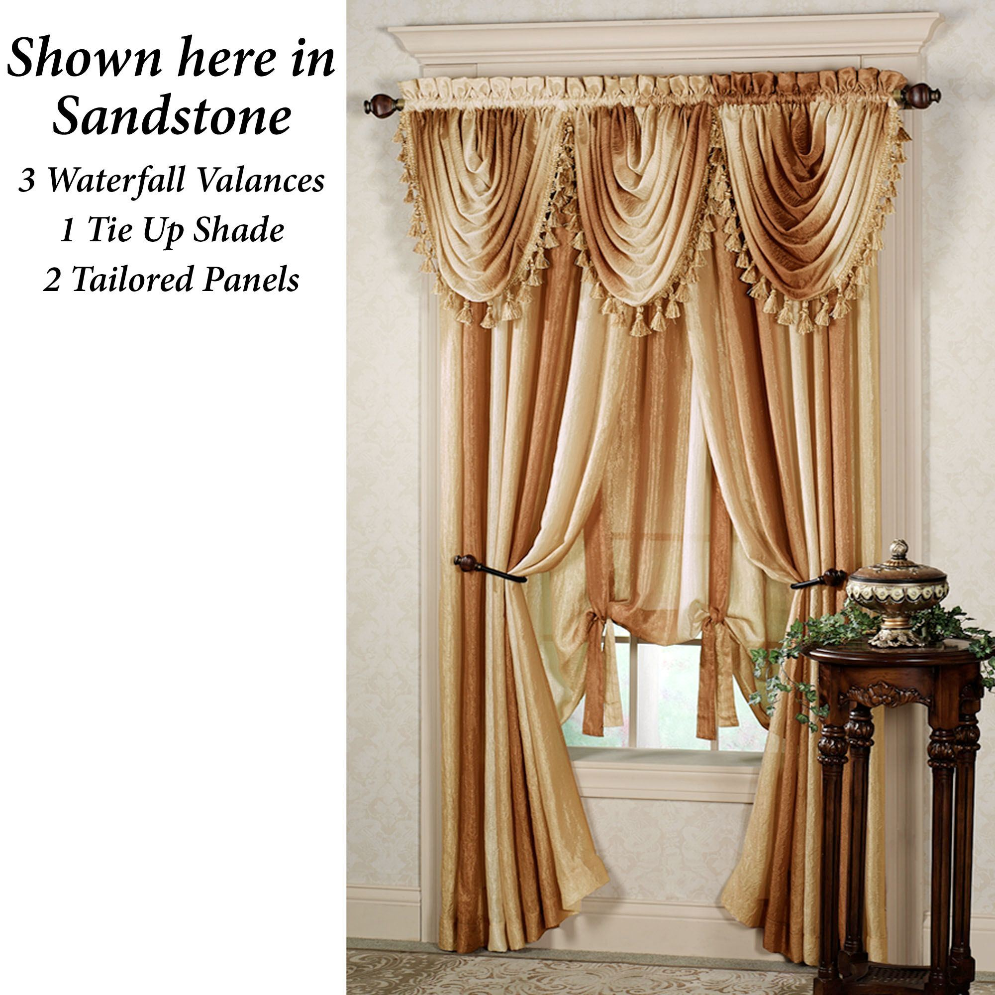 window ombre curtain wayfair panels greek pdx gray key valance lab curtains treatments trend