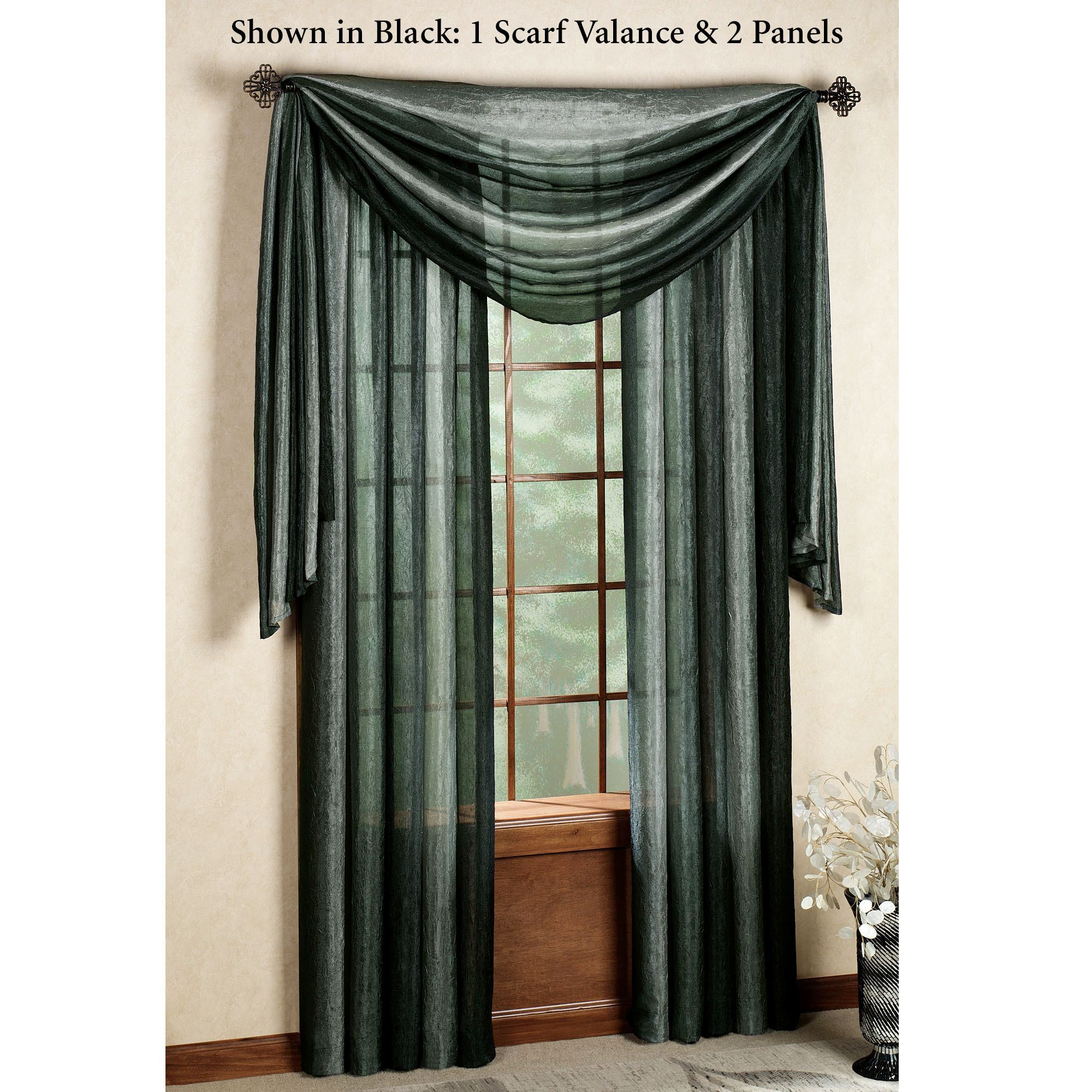 popular house scarf valance treatments plaid doherty valances window