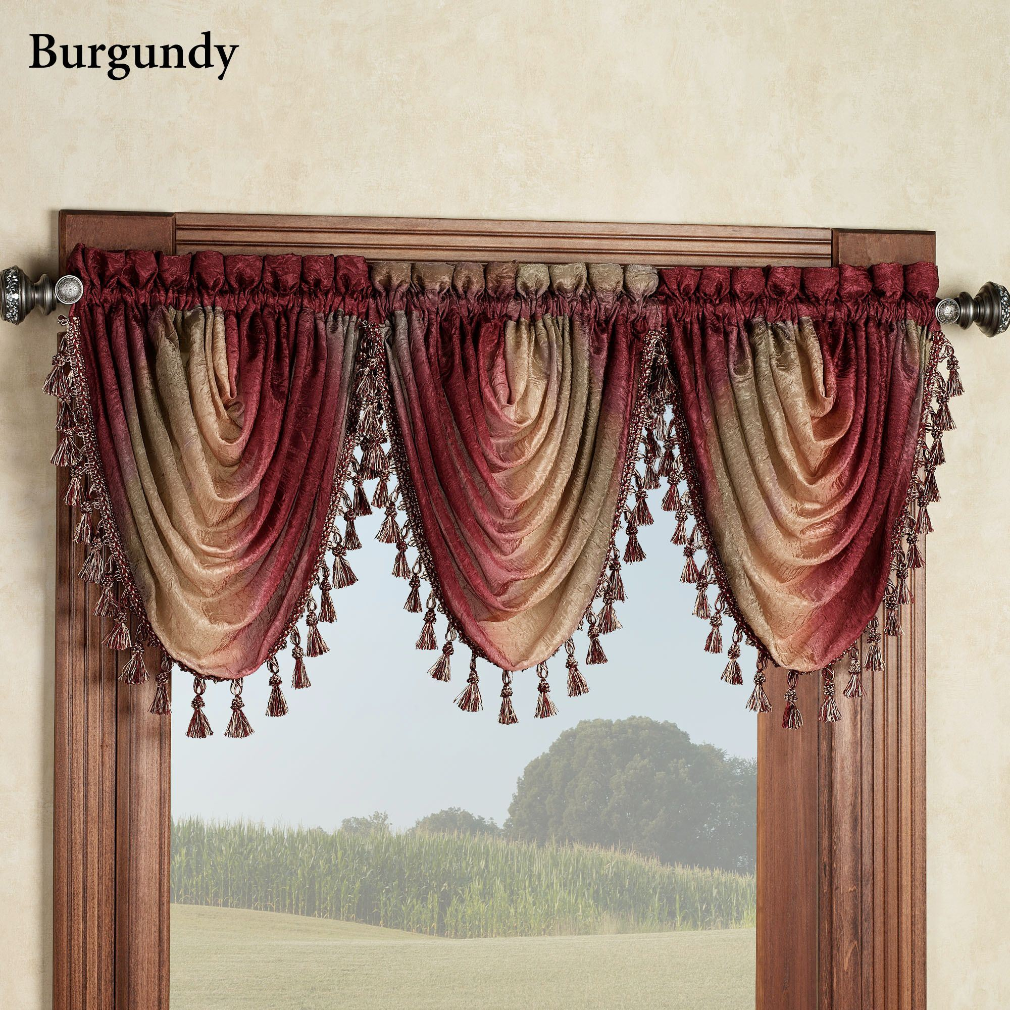 treatments for style window and trends linen tfile burgundy valances uncategorized of valance curtains blinds gold ideas pics fascinating store