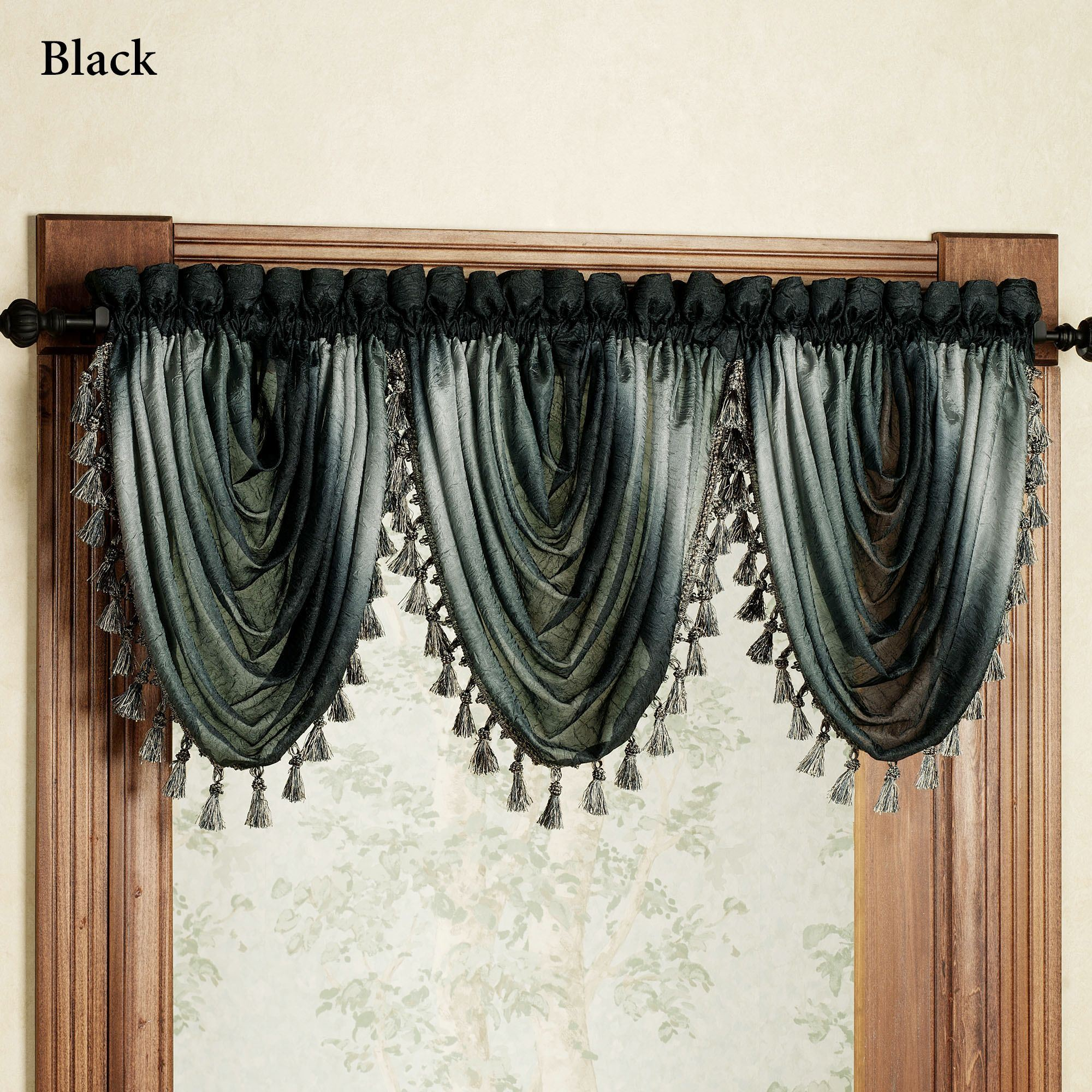 swags thecurtainshop window valances sewwtwilliamaquamvalance gray toppers com valance