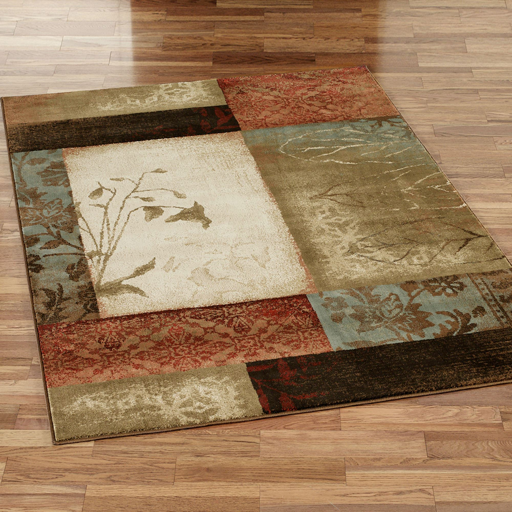 Top Impression Leaf Area Rugs NX11