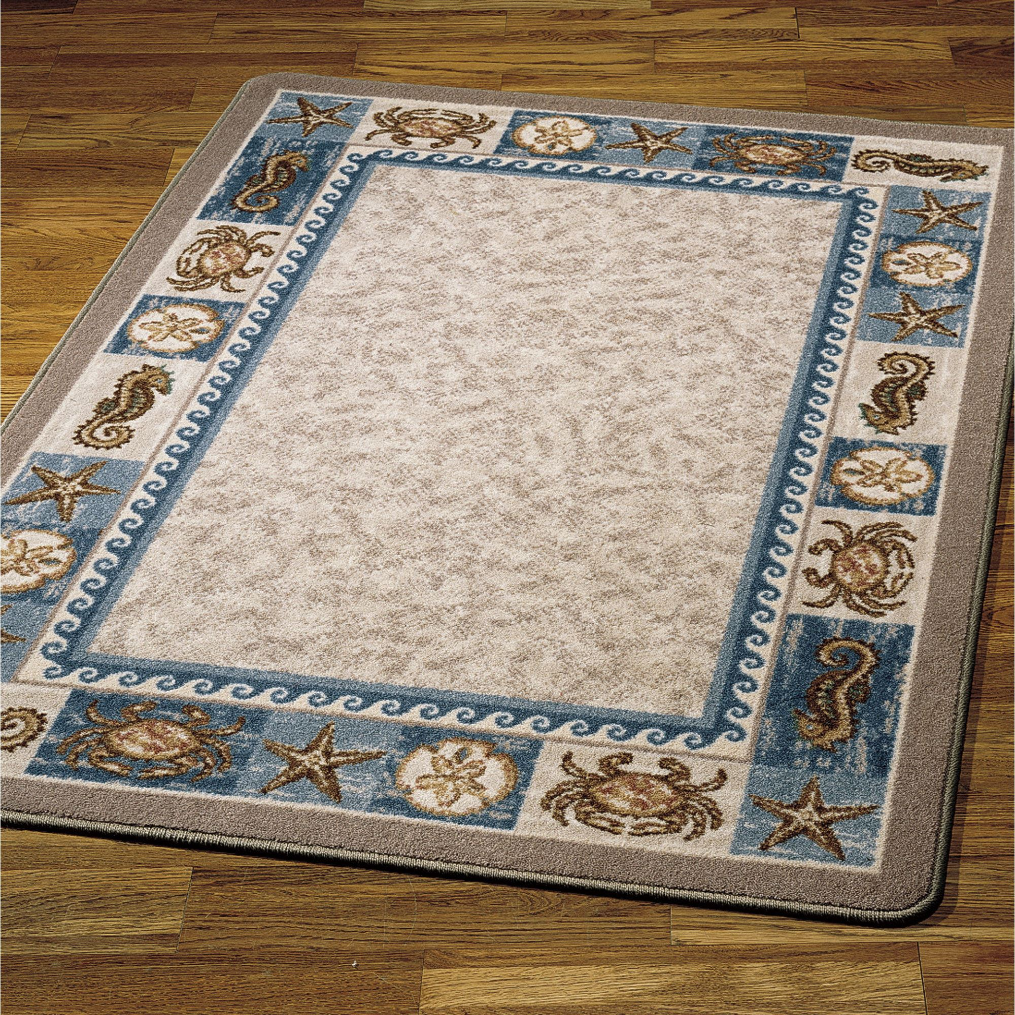 Sea Life Area Rugs