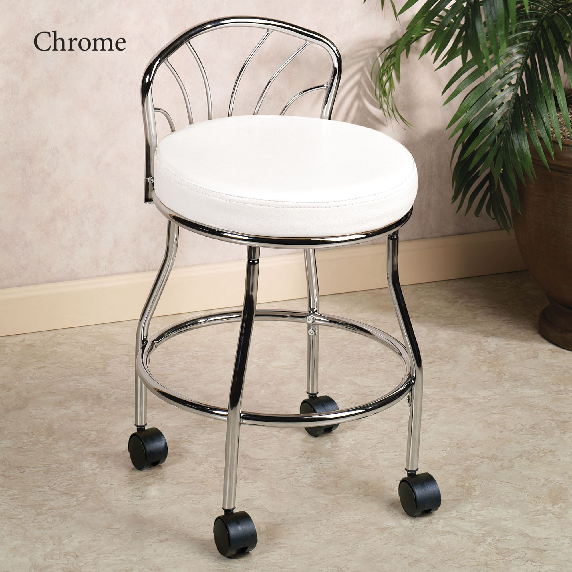 bathroom vanity chair with back. Flare Back Vanity Chair. Click To Expand · OE USE N300 NI VC Bathroom Chair With B