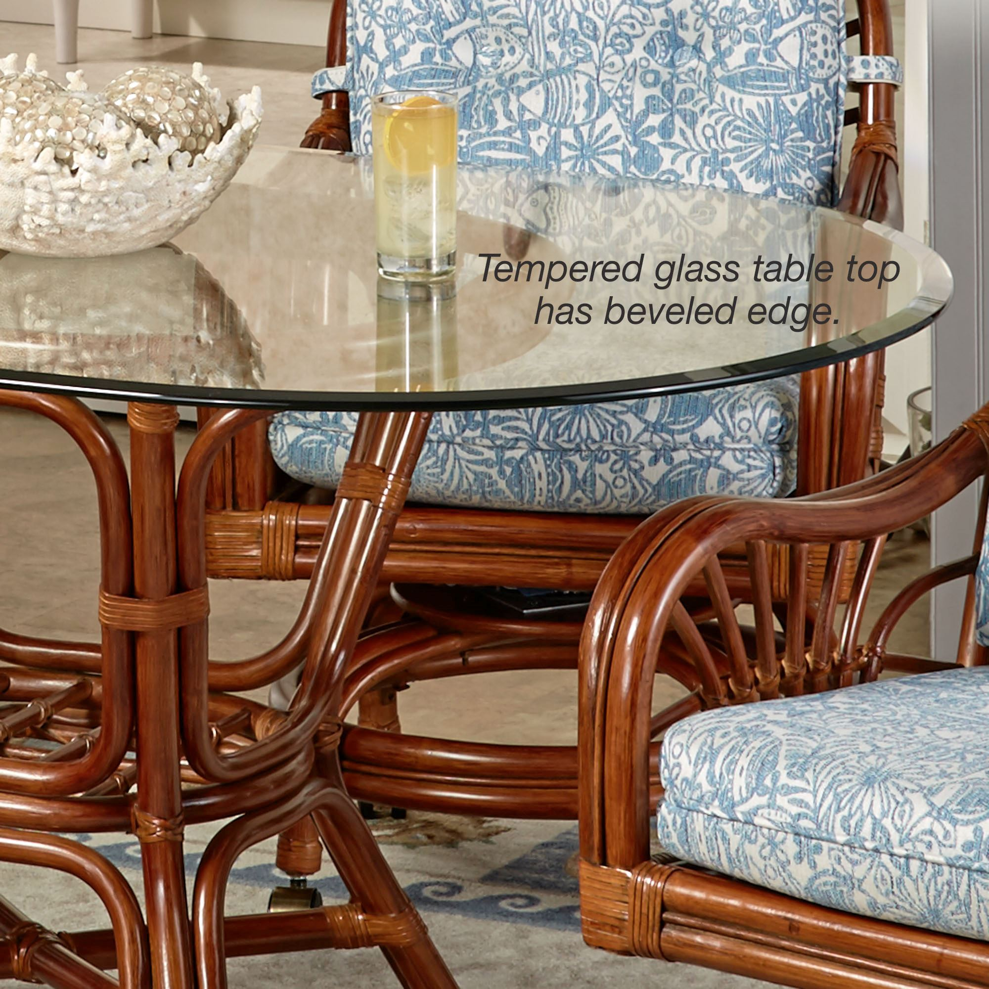 Merveilleux Leikela Round Dining Table With Caster Chairs Malibu Seaside Round Set Of  Five