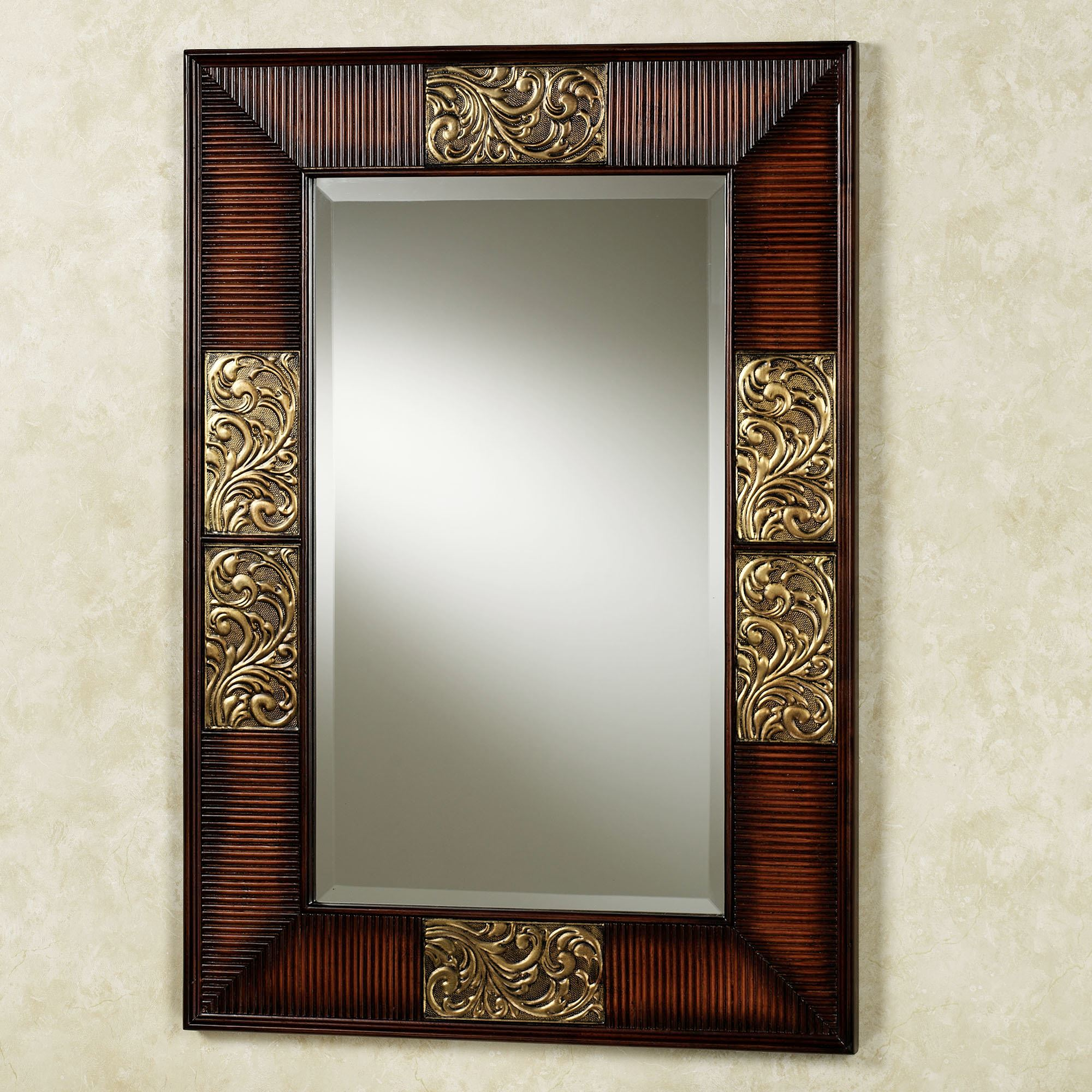 Sarantino wall mirror sarantino asian wall mirror click to expand amipublicfo Gallery