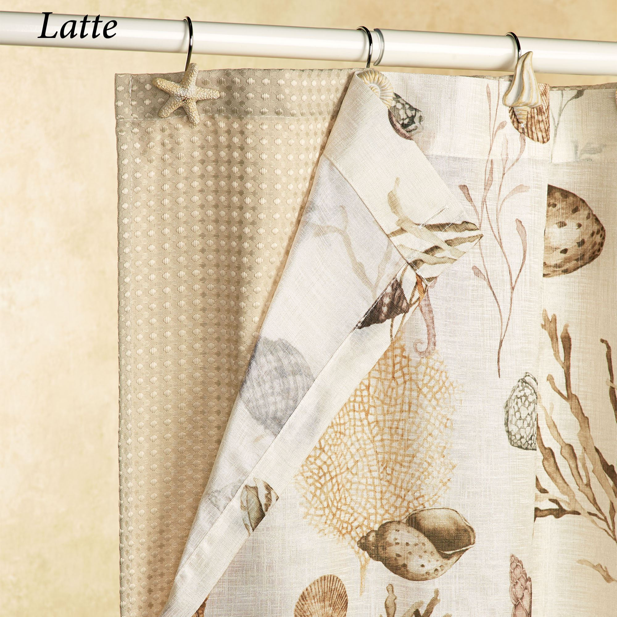 lurex pedrick run waffle new bed curtains shower latitude white wayfair bath pdx curtain