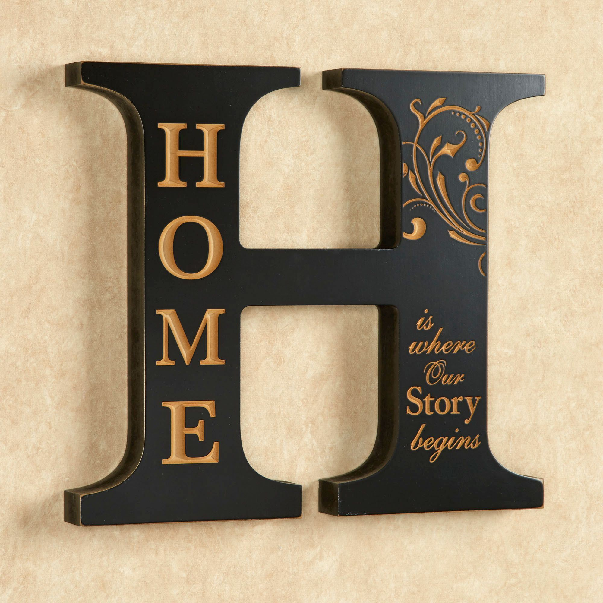 Decorative wall letter image collections home wall decoration ideas home accent letter wall decoration home letter wall plaque black click to expand amipublicfo image collections amipublicfo Image collections