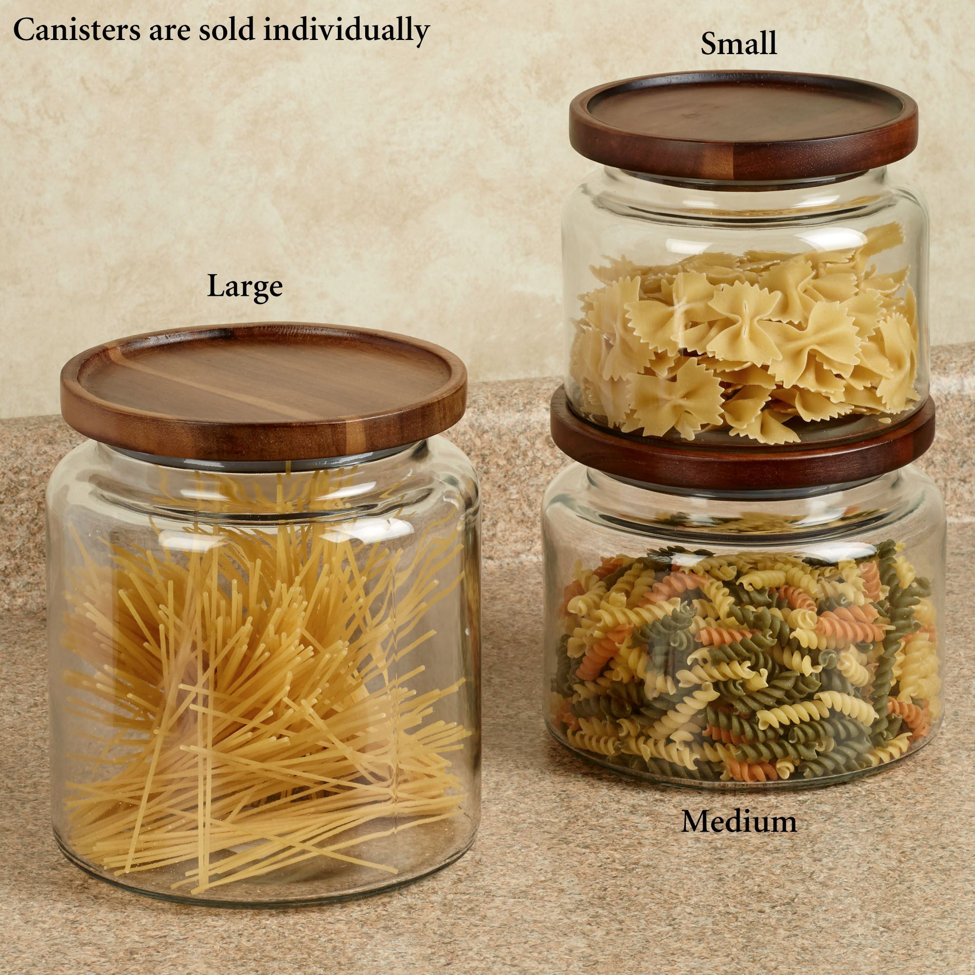 Calvina Kitchen Canister Clear. Click To Expand