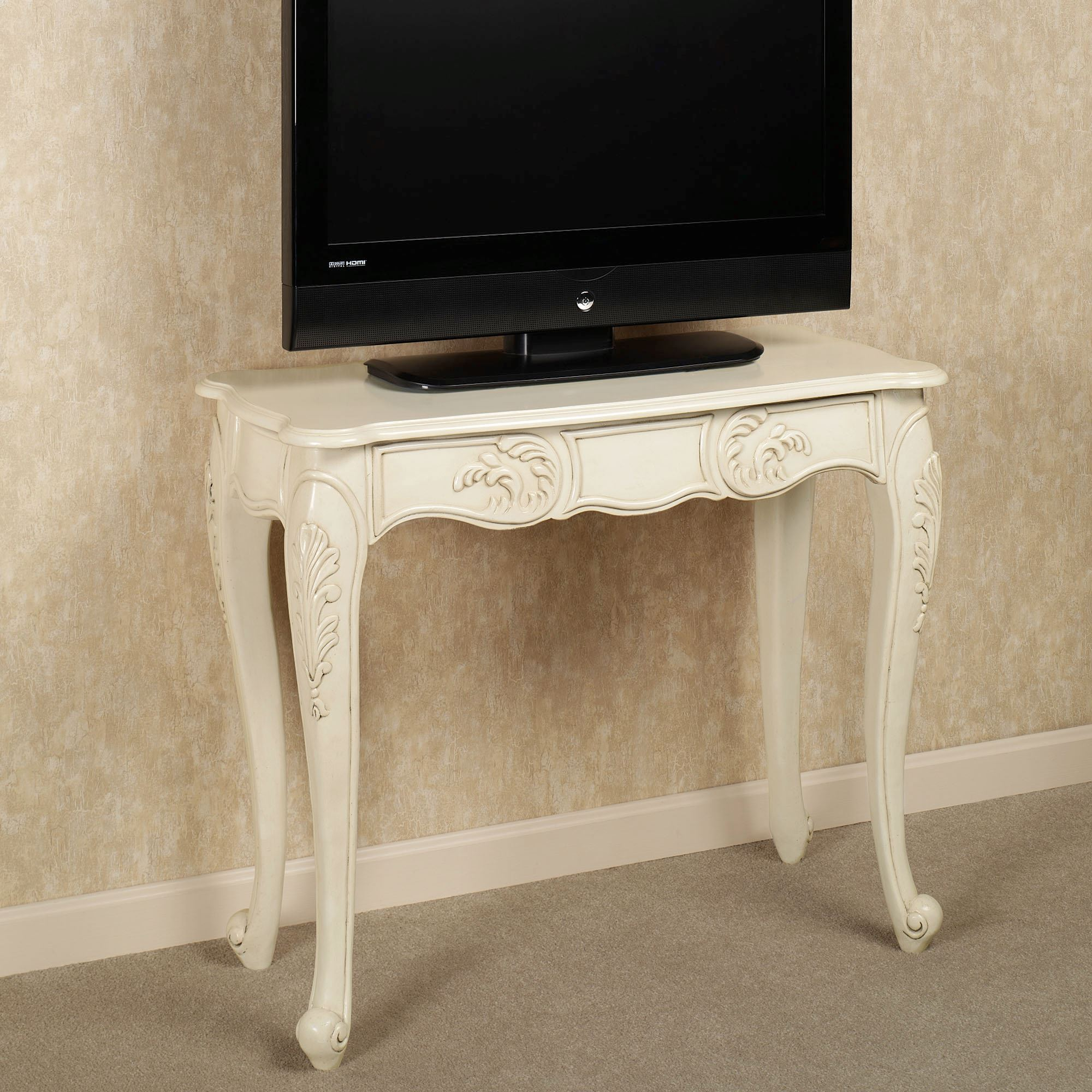 Florio wooden console table florio console table geotapseo Gallery