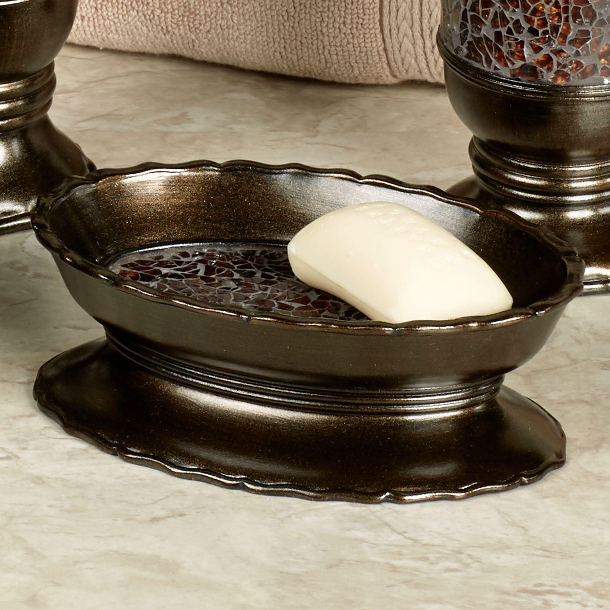 Prescott Bronze Bath Accessories