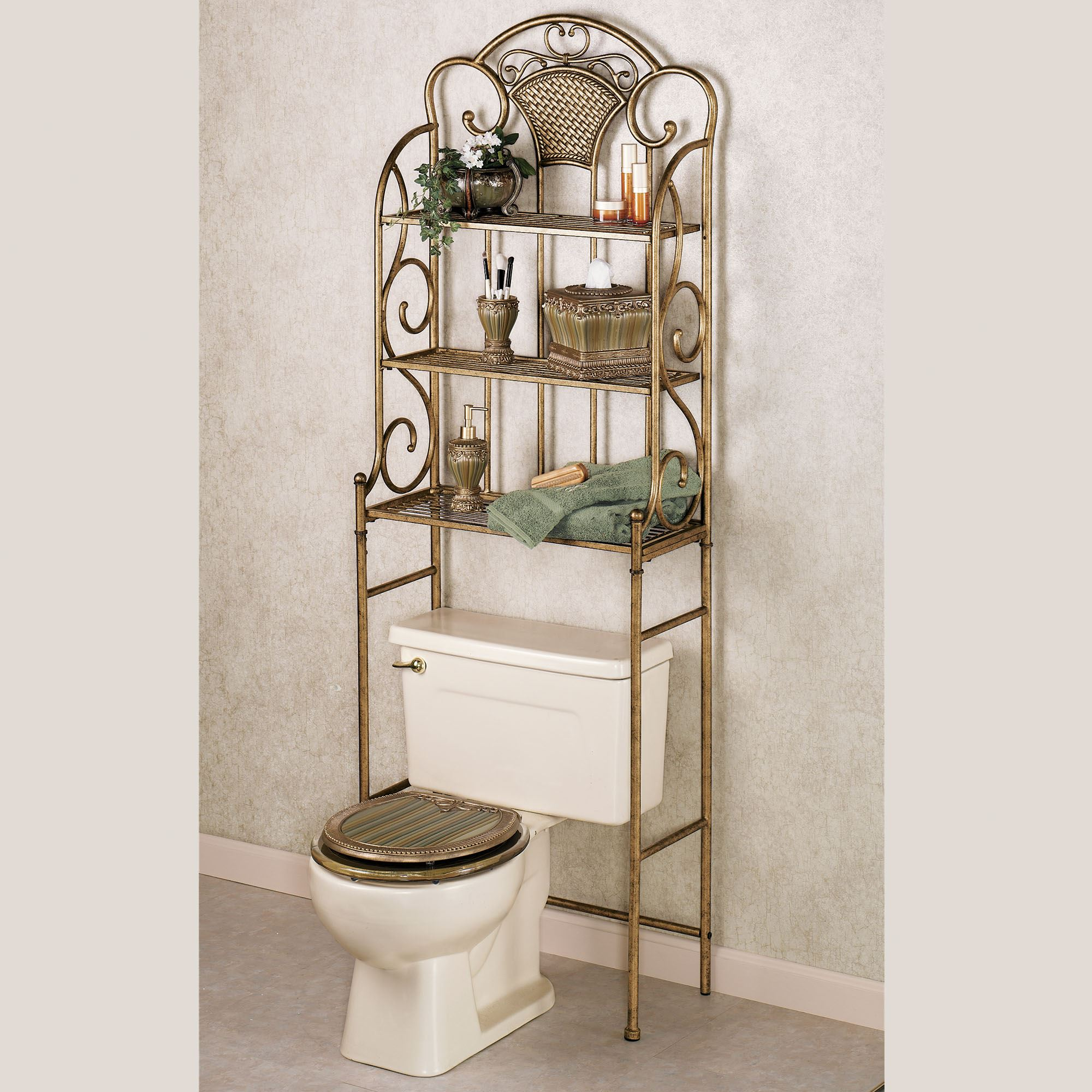 cottage bathroom spacesaver zenna home collection white country wb