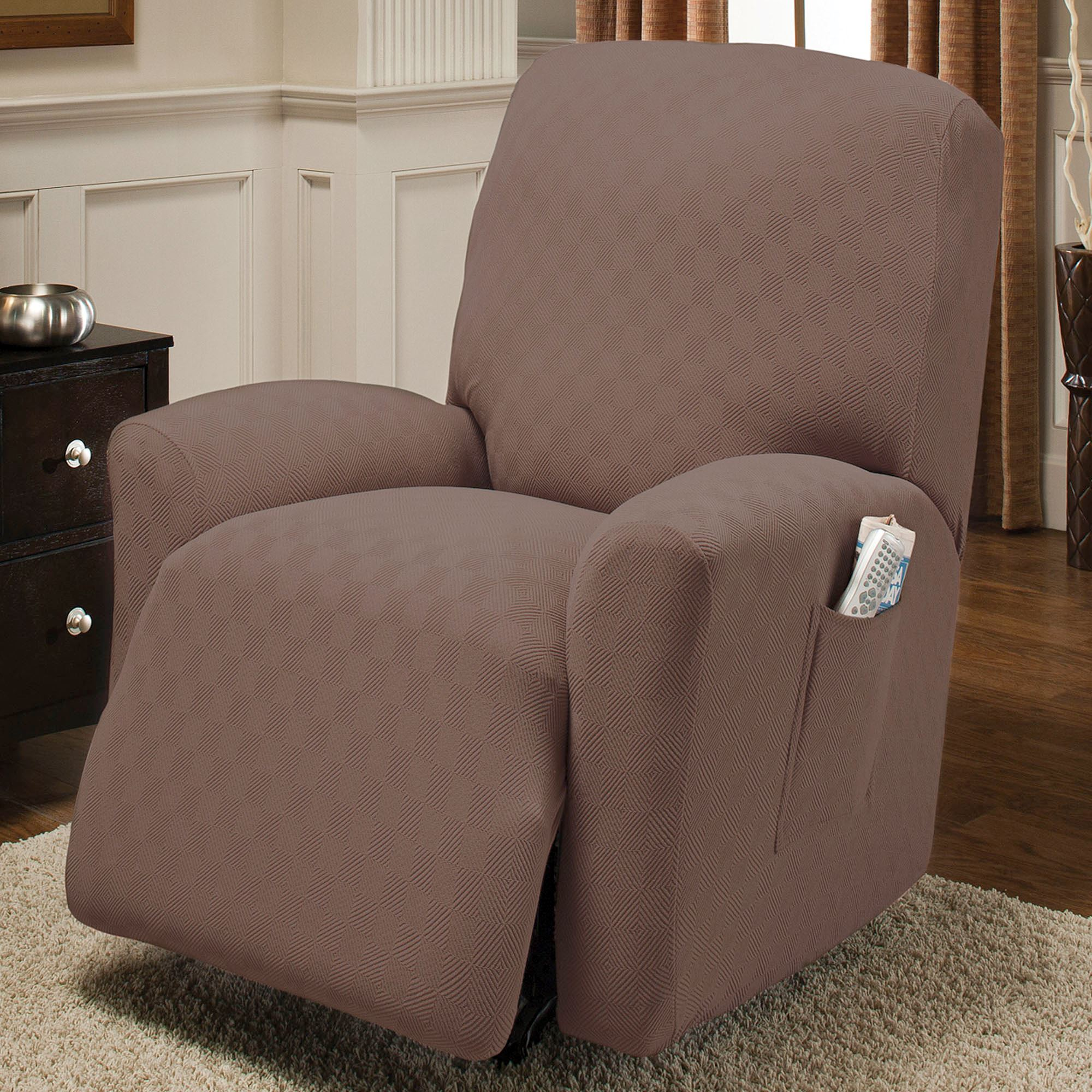 Charmant Newport Stretch Slipcover Recliner