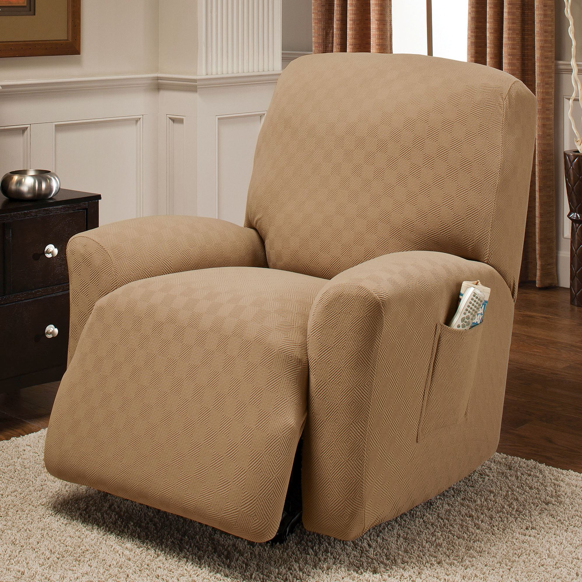 Newport Stretch Slipcover Jumbo Recliner