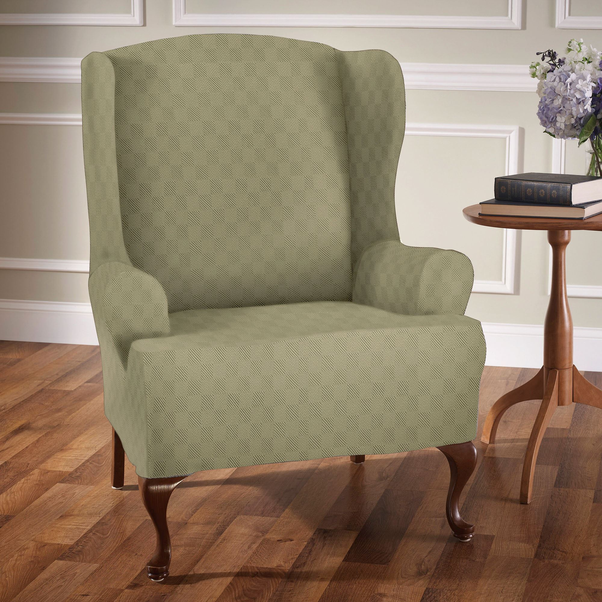 Beau Newport Stretch Slipcover Wing Chair