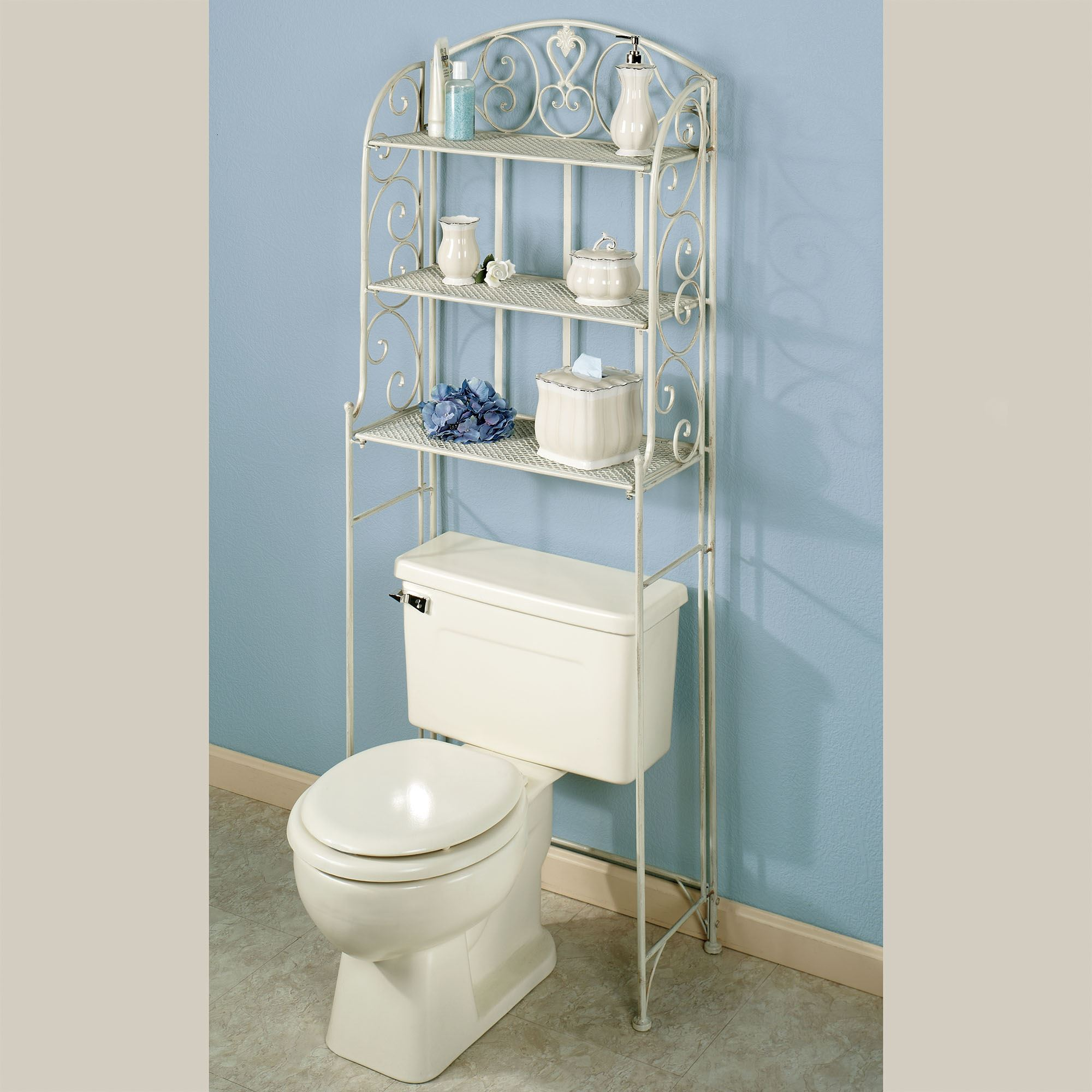 htm product shelf saver bathroom one savers over toilet rattan space the tank white p plastic