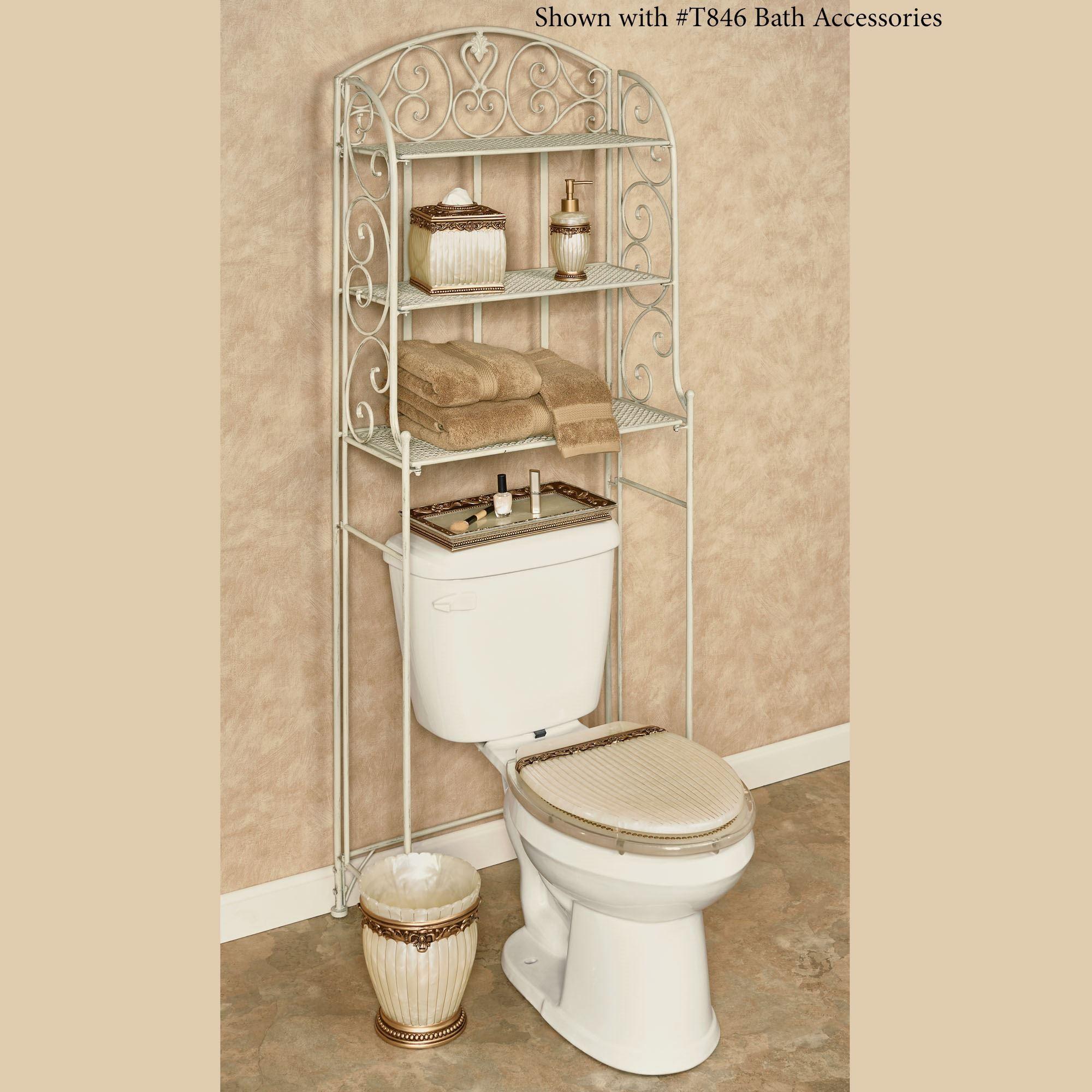 Aldabella Creamy Gold Bathroom Space Saver
