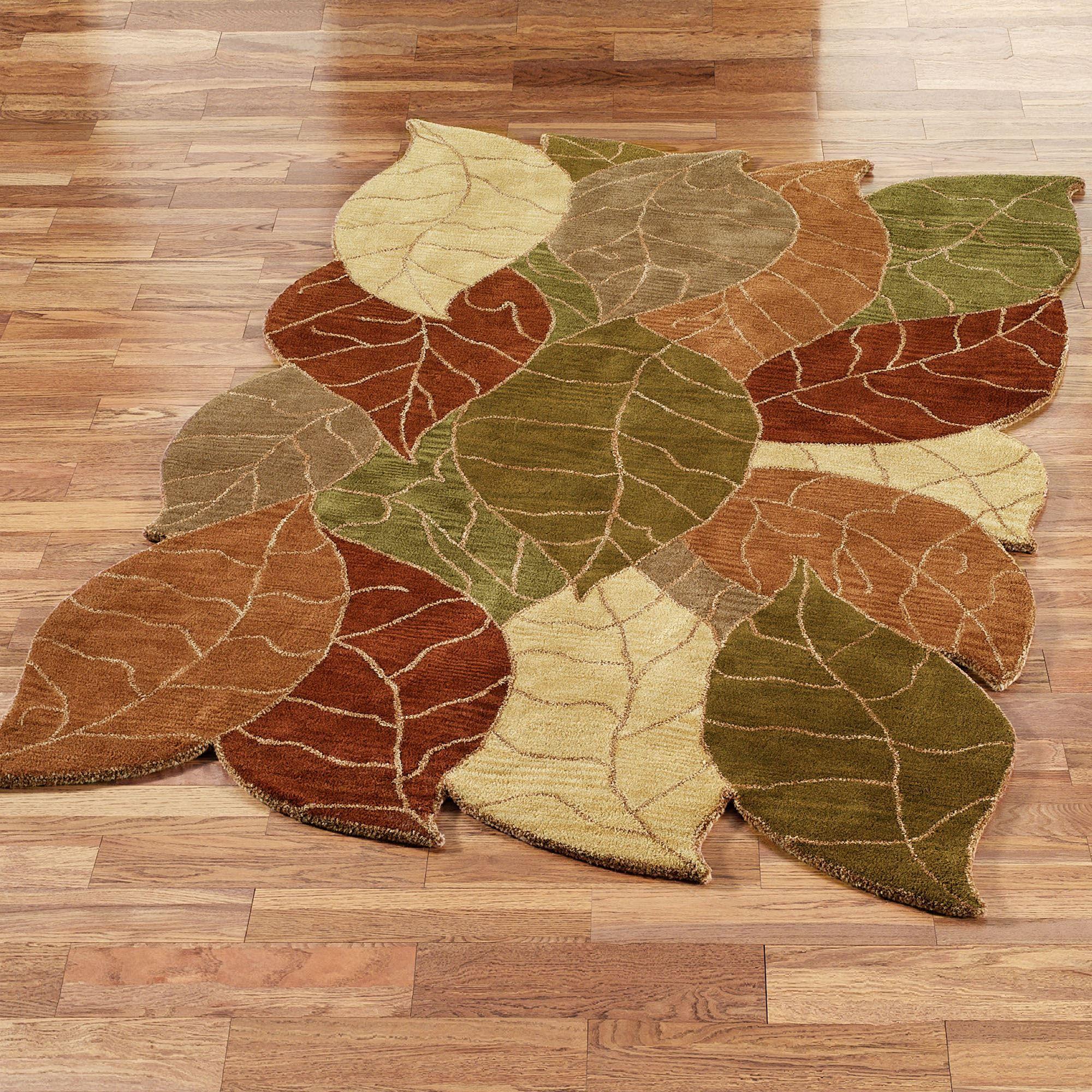 Round Or Rectangular Area Rug: Seasons Area Rugs