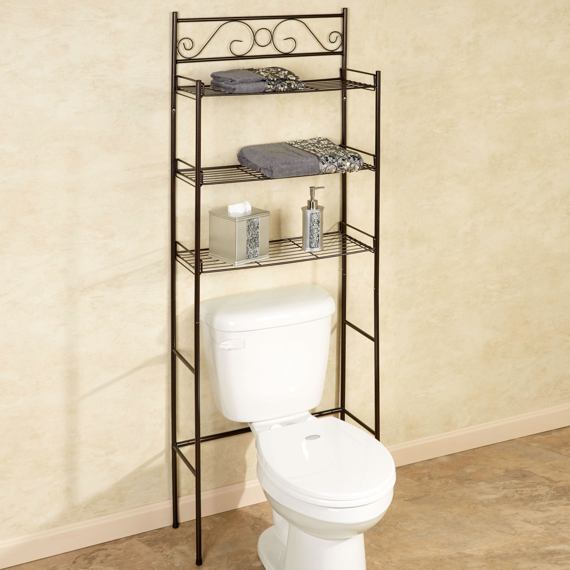 Scroll Bronze Bathroom E Saver