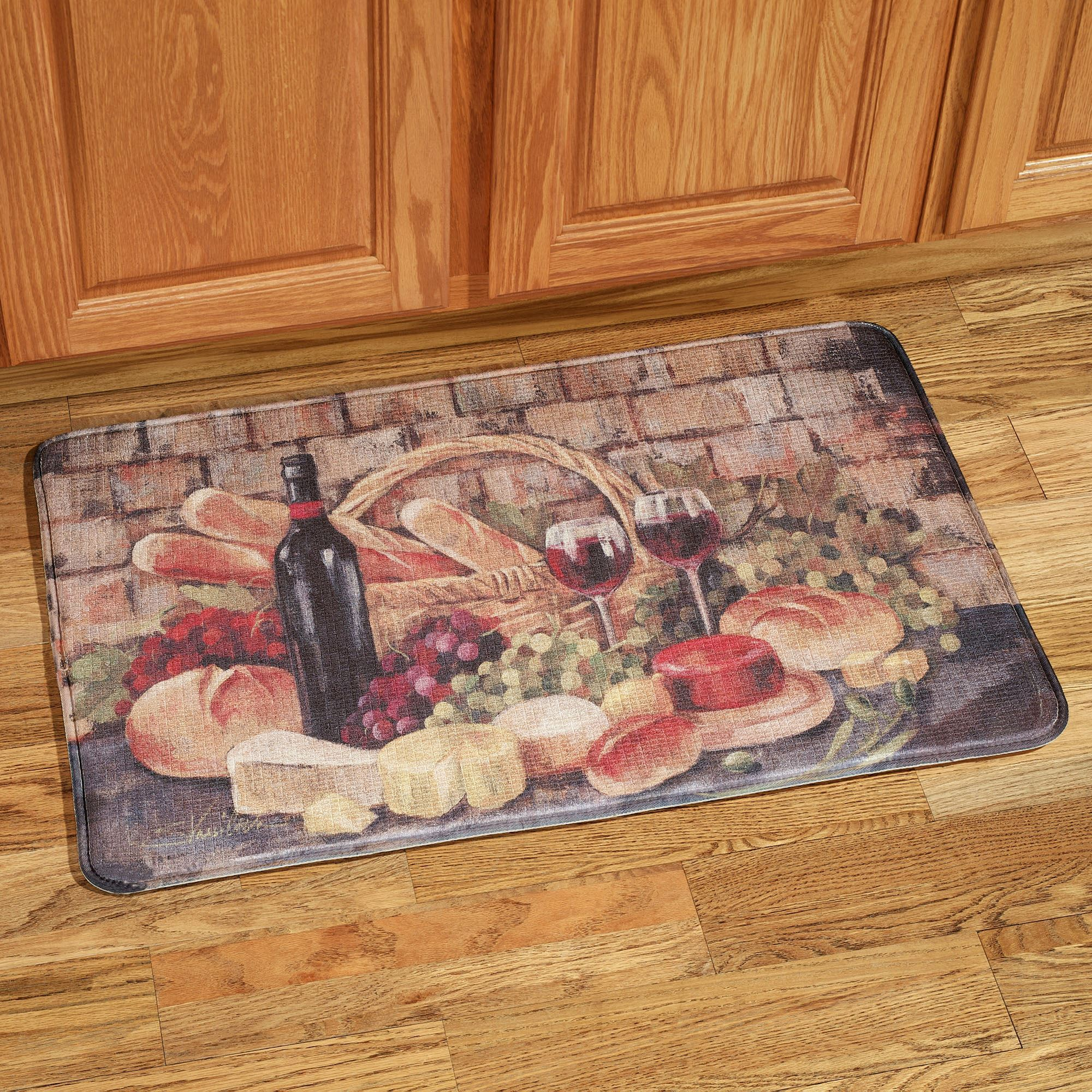 Tuscan Evening Memory Foam Kitchen fort Mat