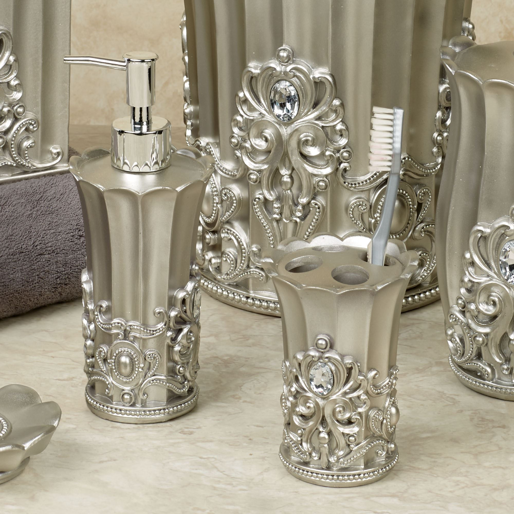 crystal bathroom accessories. click to expand crystal bathroom accessories m